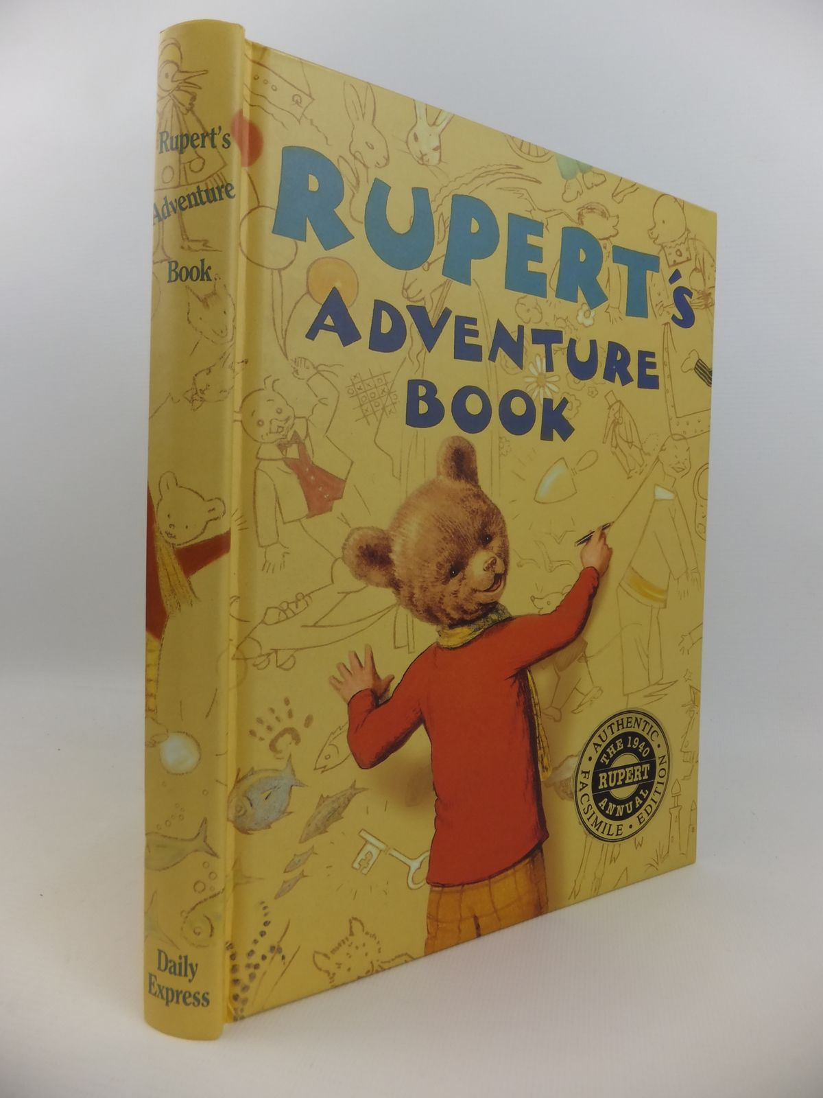 Photo of RUPERT ANNUAL 1940 (FACSIMILE) - RUPERT'S ADVENTURE BOOK- Stock Number: 2122154