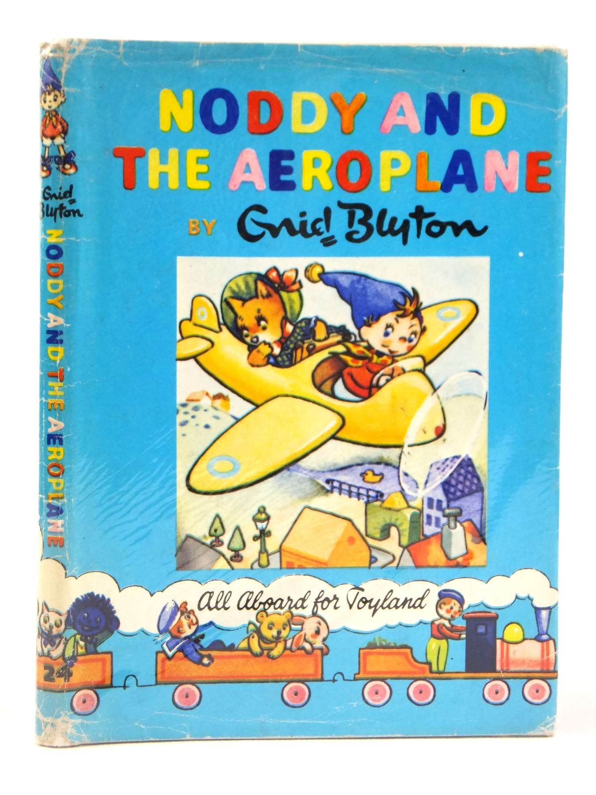 Photo of NODDY AND THE AEROPLANE written by Blyton, Enid illustrated by Wienk, Peter published by Sampson Low, Marston & Co. Ltd., The Richards Press (STOCK CODE: 2122191)  for sale by Stella & Rose's Books