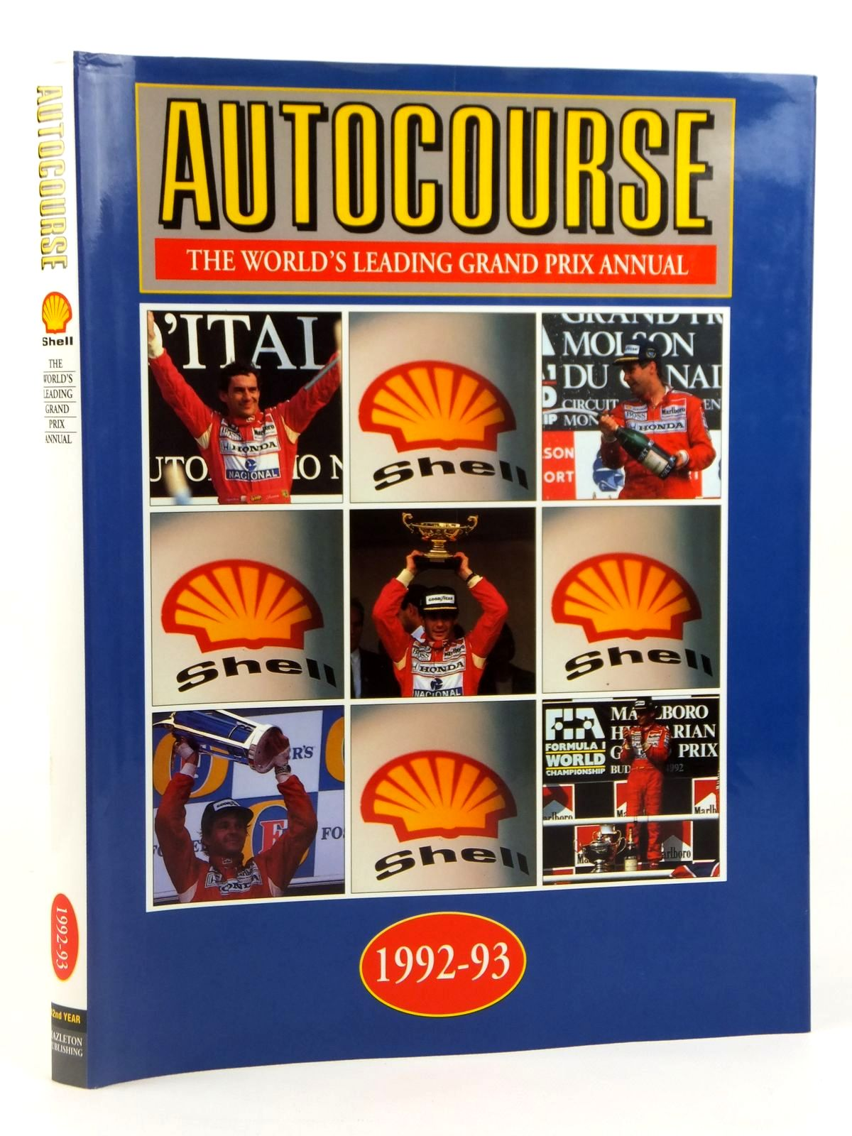 Photo of AUTOCOURSE 1992-93 published by Hazleton Publishing (STOCK CODE: 2122232)  for sale by Stella & Rose's Books