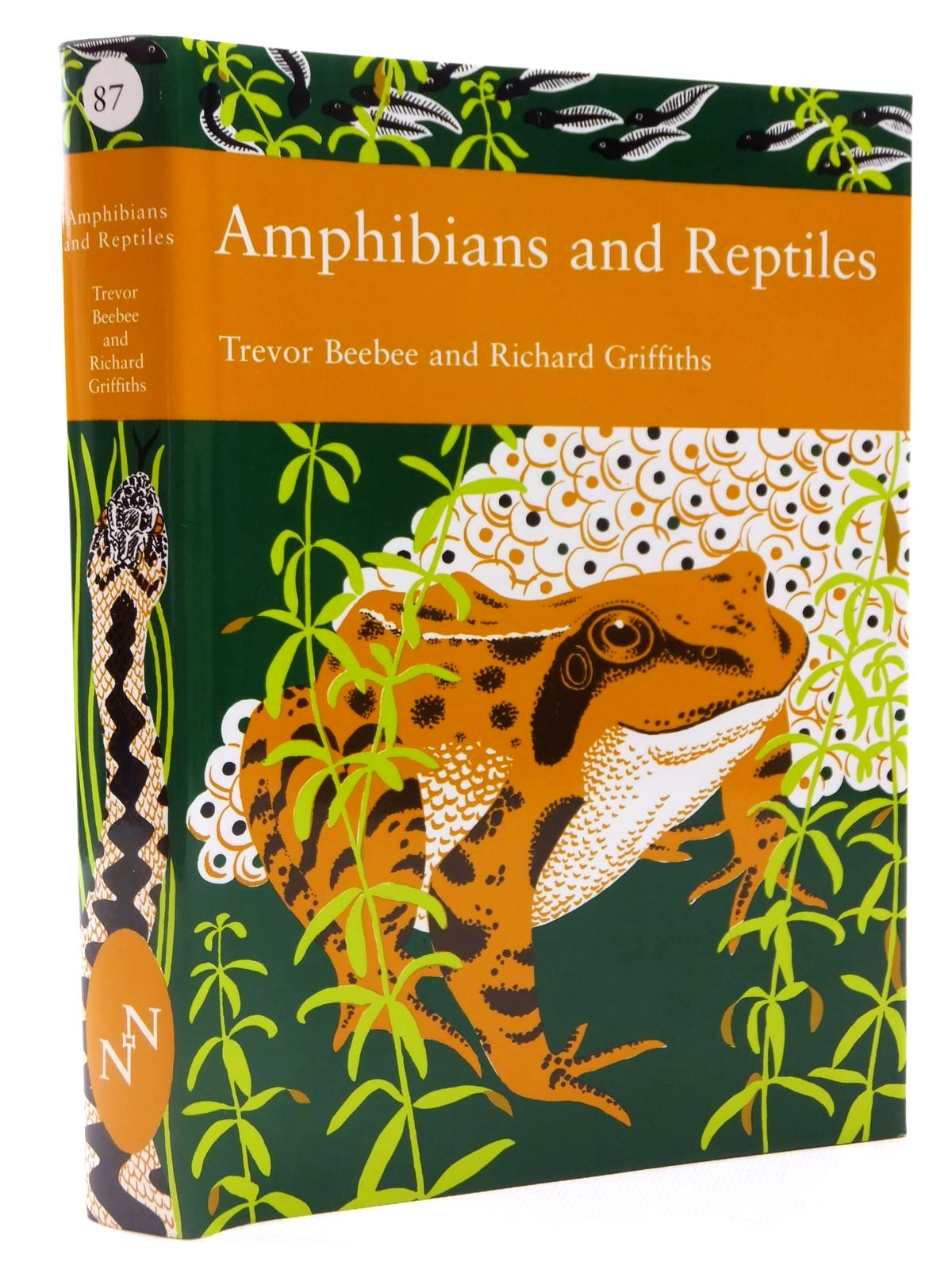 Photo of AMPHIBIANS AND REPTILES (NN 87) written by Beebee, Trevor J.C.<br />Griffiths, Richard A. published by Harper Collins (STOCK CODE: 2122363)  for sale by Stella & Rose's Books