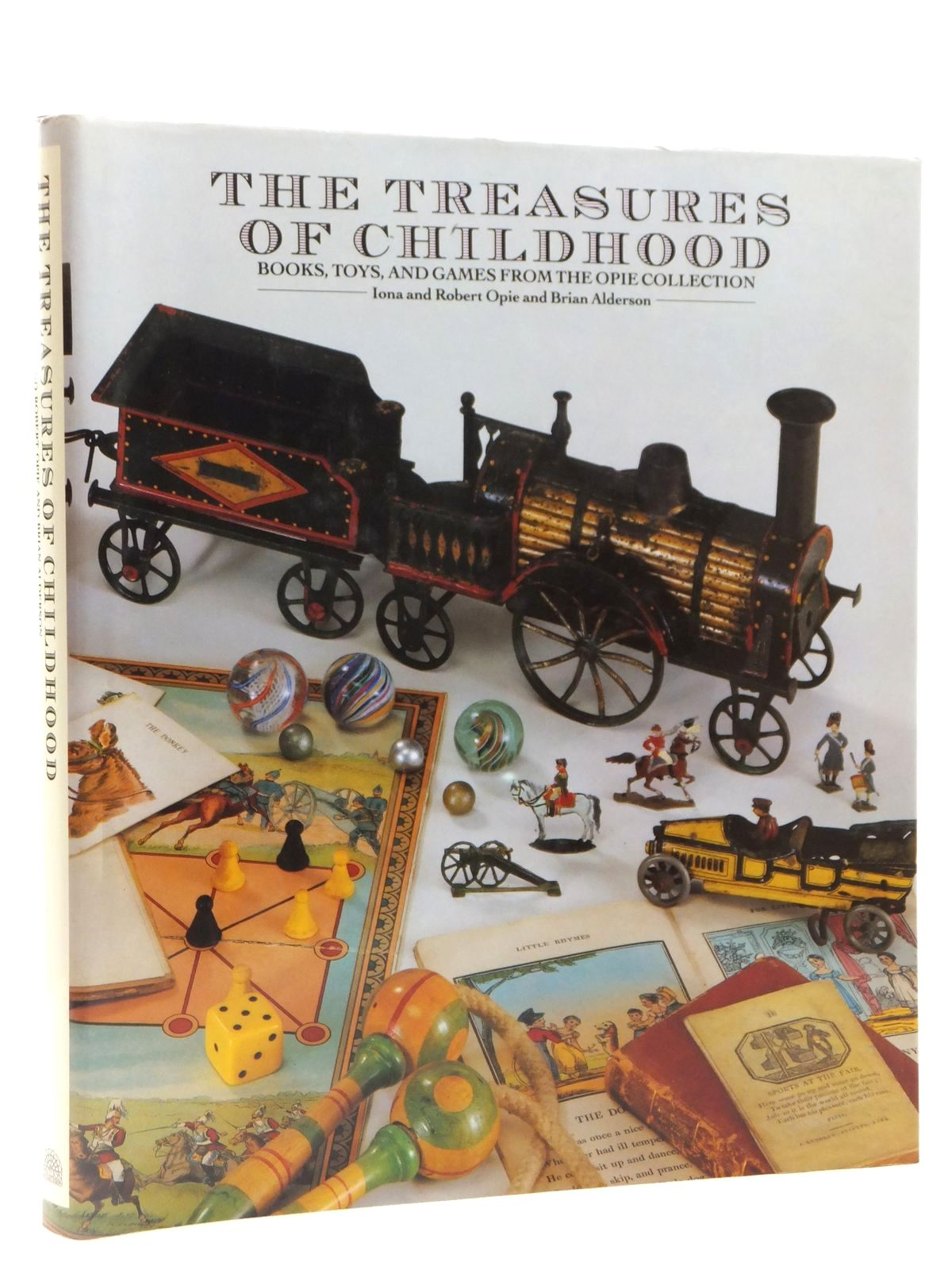 Photo of THE TREASURES OF CHILDHOOD written by Opie, Iona<br />Alderson, Brian published by Pavilion Books (STOCK CODE: 2122414)  for sale by Stella & Rose's Books