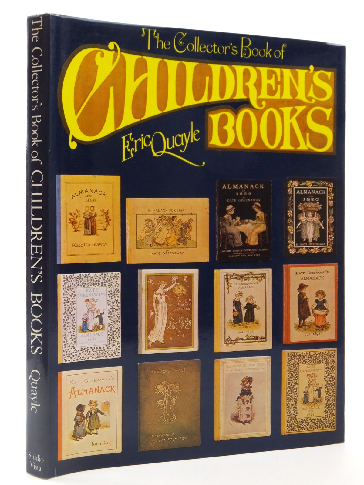 Photo of THE COLLECTOR'S BOOK OF CHILDREN'S BOOKS written by Quayle, Eric published by Studio Vista (STOCK CODE: 2122426)  for sale by Stella & Rose's Books