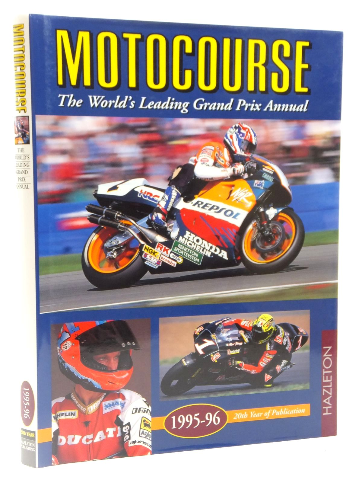 Photo of MOTOCOURSE 1995-96 published by Hazleton Publishing (STOCK CODE: 2122679)  for sale by Stella & Rose's Books