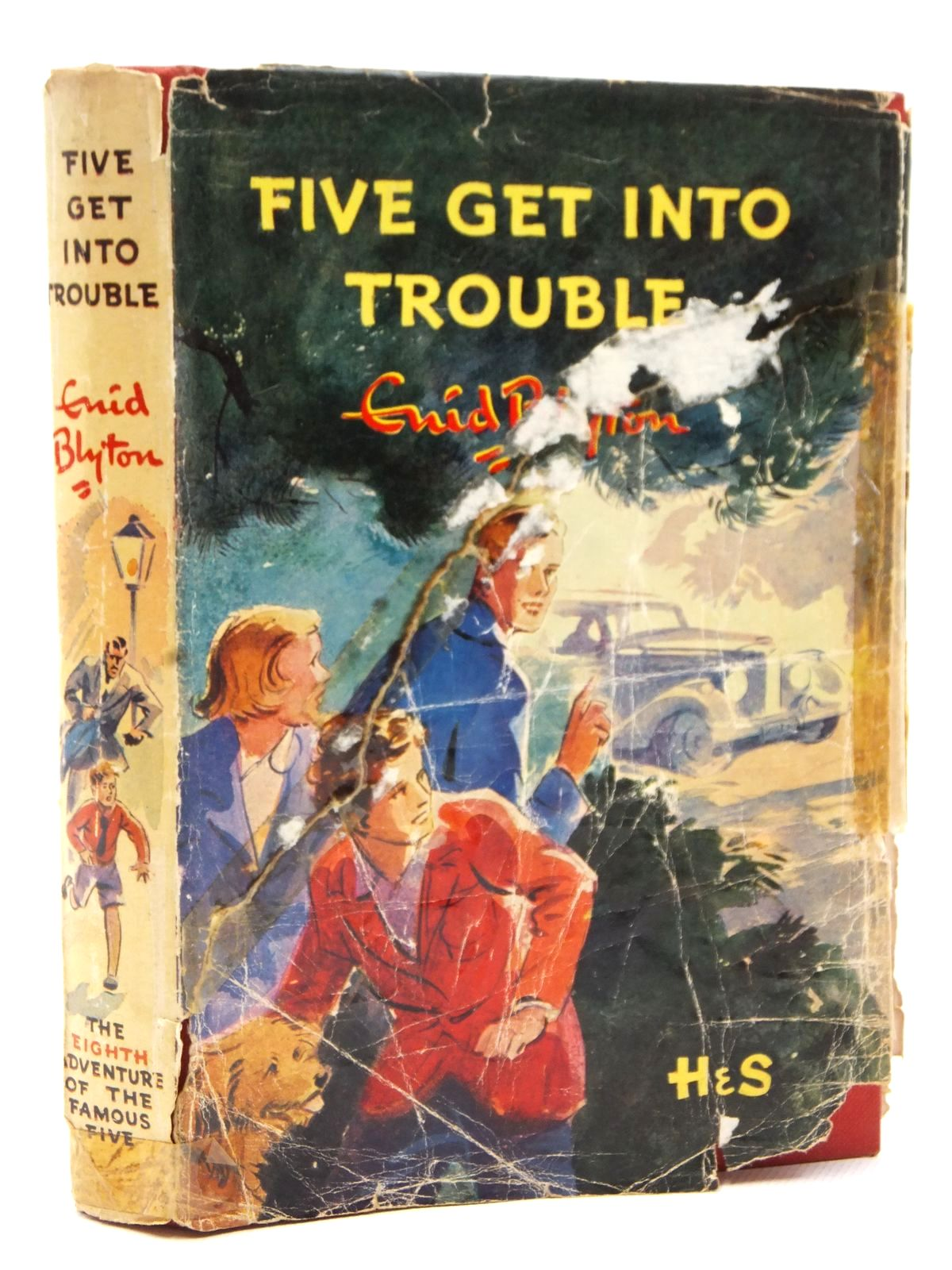 Photo of FIVE GET INTO TROUBLE written by Blyton, Enid illustrated by Soper, Eileen published by Hodder & Stoughton (STOCK CODE: 2122777)  for sale by Stella & Rose's Books