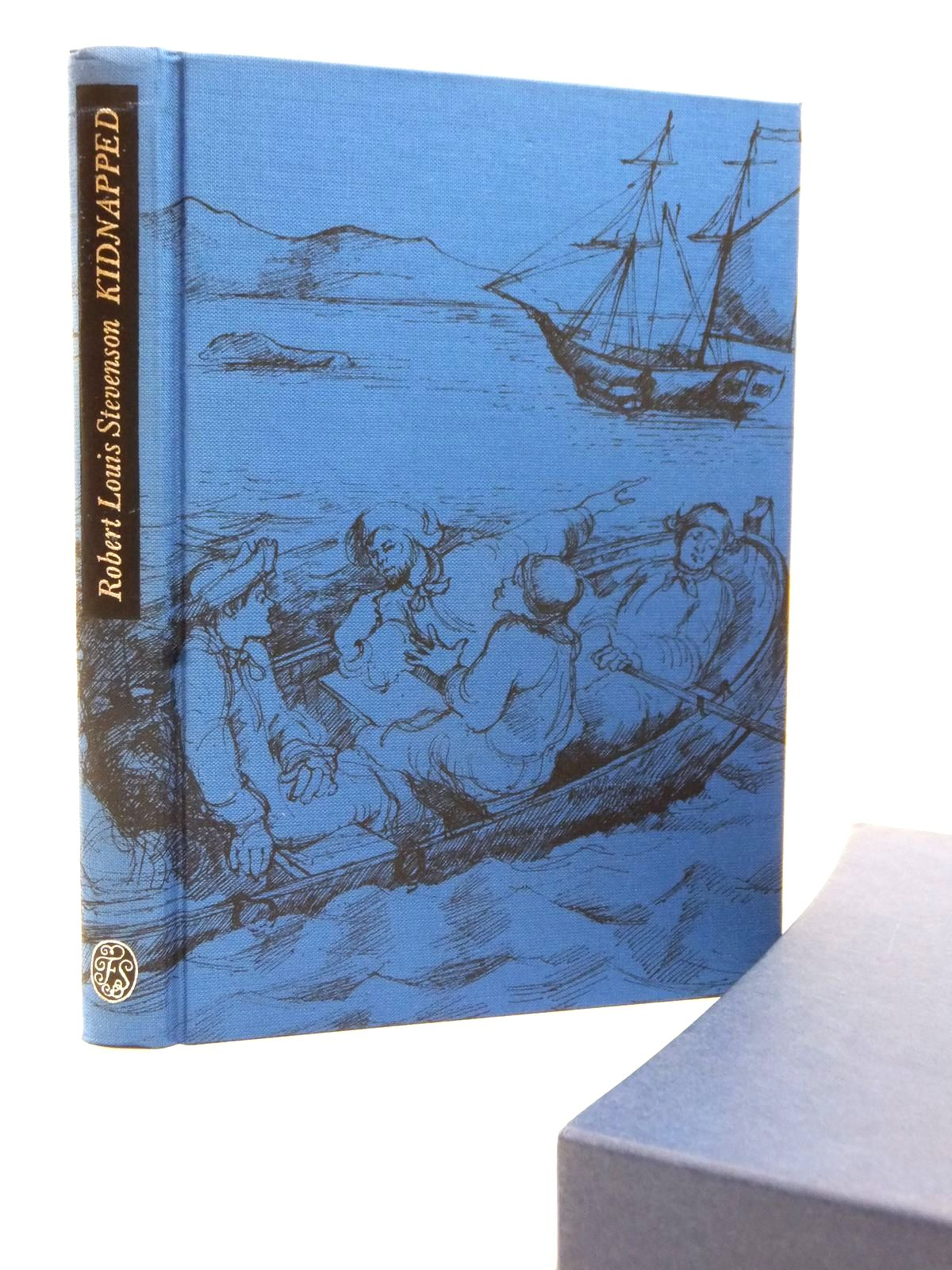 Photo of KIDNAPPED written by Stevenson, Robert Louis<br />Delaney, Frank illustrated by Newnham, Annie published by Folio Society (STOCK CODE: 2122939)  for sale by Stella & Rose's Books