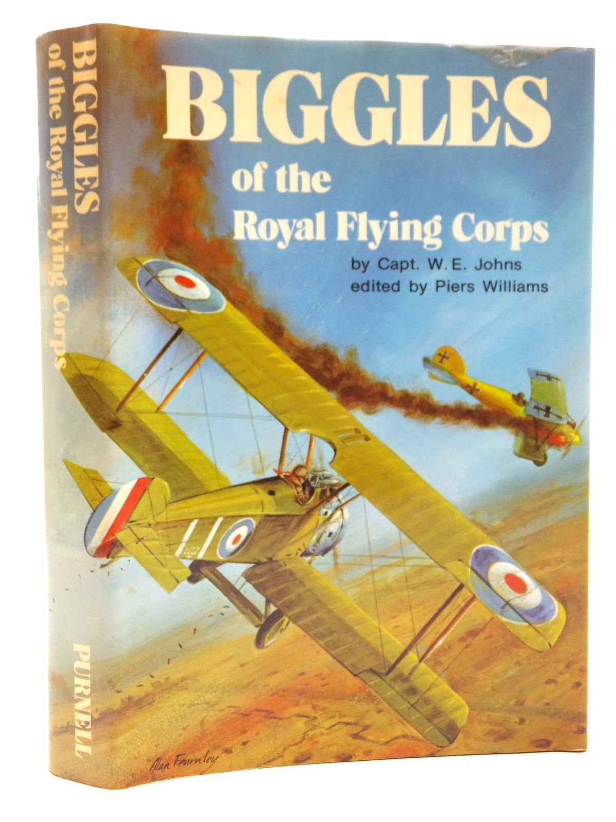 Photo of BIGGLES OF THE ROYAL FLYING CORPS written by Johns, W.E. published by Purnell Books (STOCK CODE: 2123035)  for sale by Stella & Rose's Books