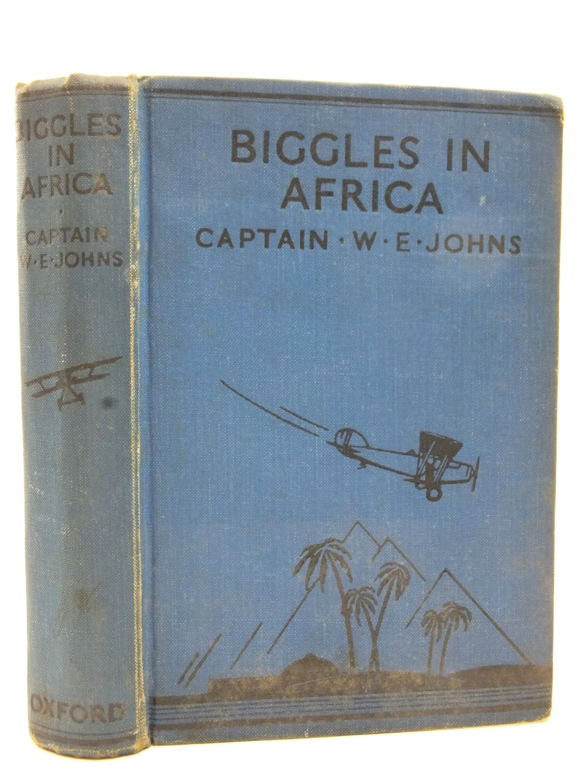 Photo of BIGGLES IN AFRICA written by Johns, W.E. illustrated by Leigh, Howard<br />Sindall, Alfred published by Oxford University Press, Humphrey Milford (STOCK CODE: 2123090)  for sale by Stella & Rose's Books