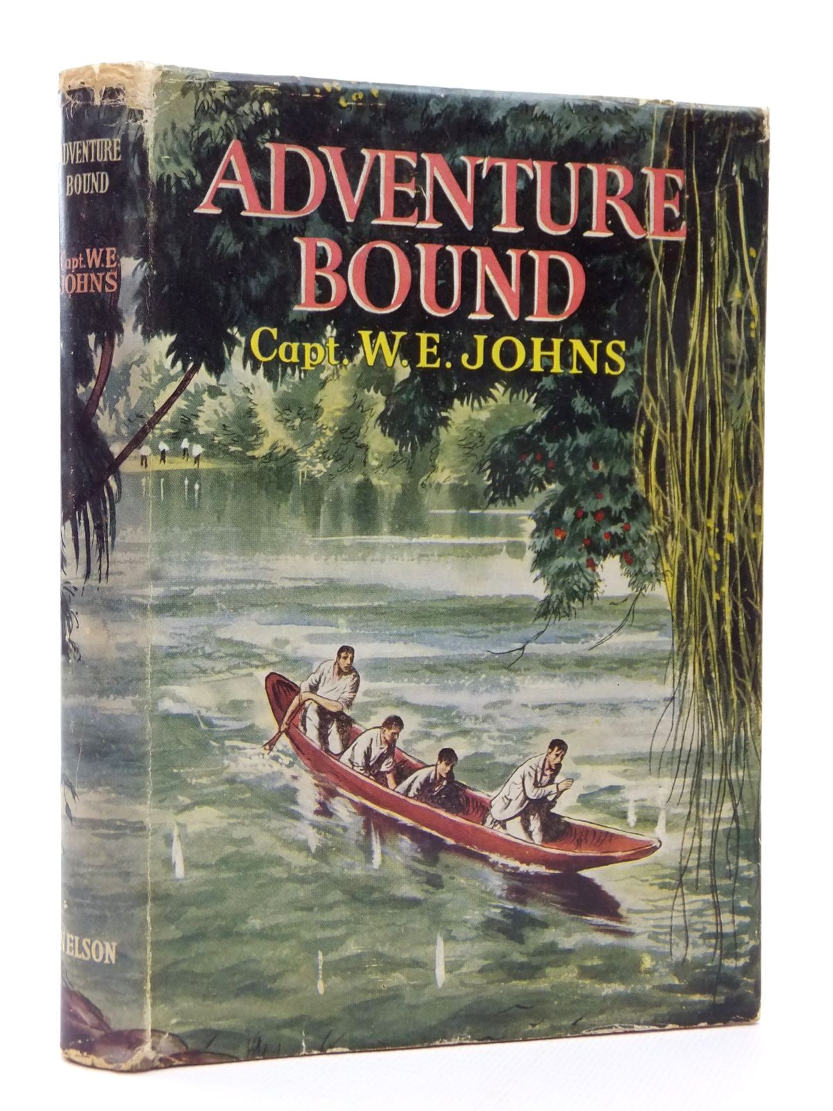 Photo of ADVENTURE BOUND written by Johns, W.E. illustrated by Relf, Douglas published by Thomas Nelson and Sons Ltd. (STOCK CODE: 2123093)  for sale by Stella & Rose's Books