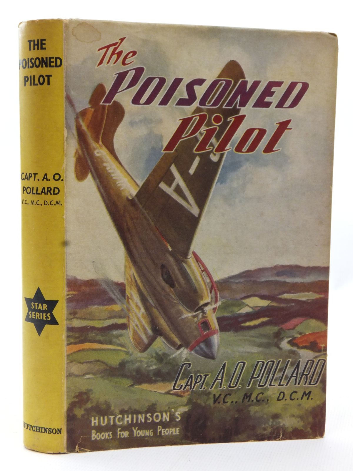 Photo of THE POISONED PILOT written by Pollard, A.O. published by Hutchinson & Co. Ltd (STOCK CODE: 2123125)  for sale by Stella & Rose's Books