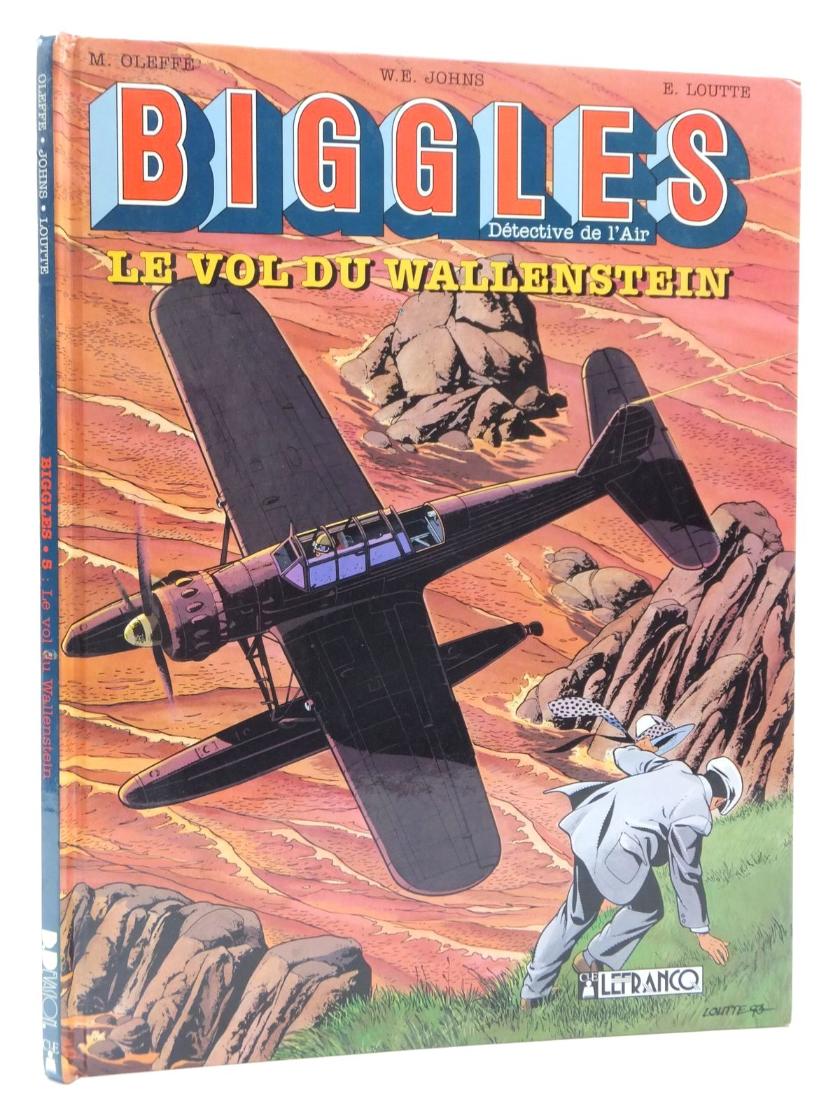 Photo of BIGGLES DETECTIVE DE L'AIR LE VOL DU WALLENSTEIN written by Johns, W.E.<br />Oleffe, Michel illustrated by Loutte, Eric published by Claude Lefrancq Editeur (STOCK CODE: 2123164)  for sale by Stella & Rose's Books
