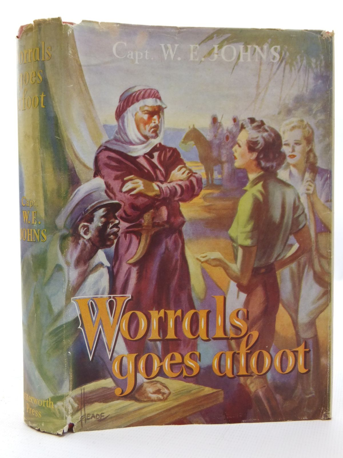 Photo of WORRALS GOES AFOOT written by Johns, W.E. published by Lutterworth Press (STOCK CODE: 2123177)  for sale by Stella & Rose's Books