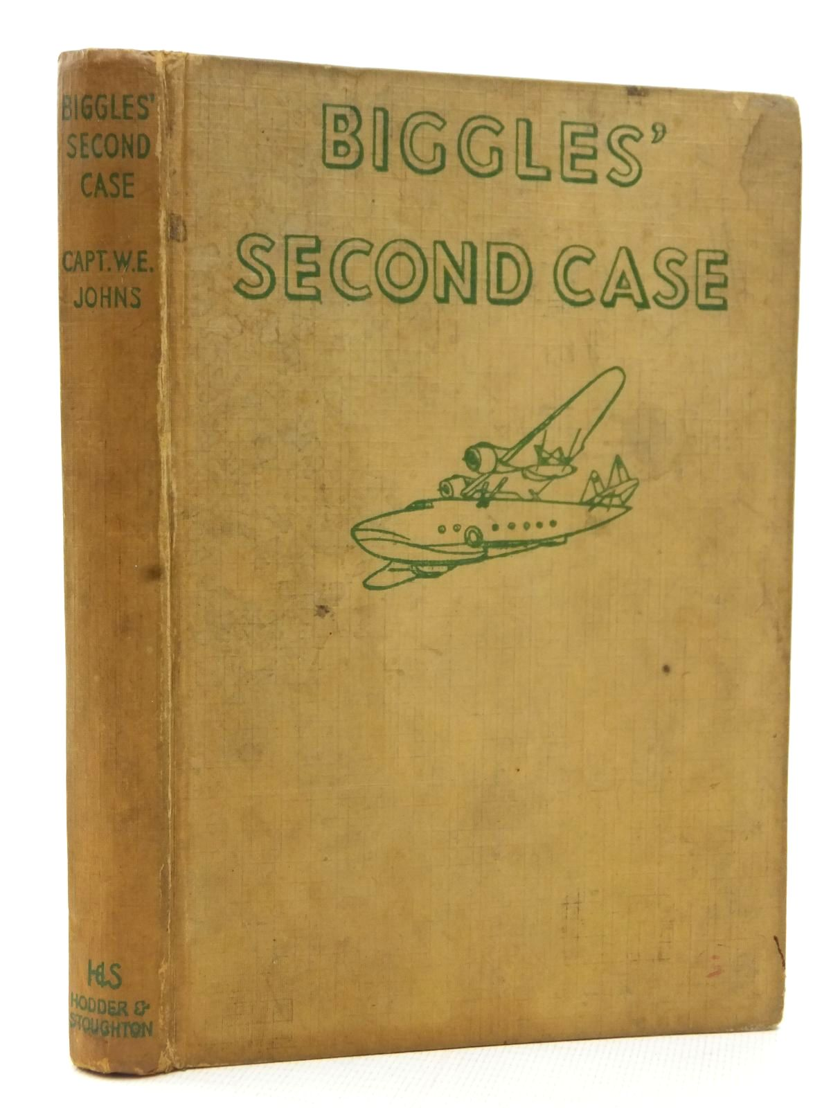 Photo of BIGGLES' SECOND CASE written by Johns, W.E. illustrated by Stead,  published by Hodder & Stoughton (STOCK CODE: 2123184)  for sale by Stella & Rose's Books