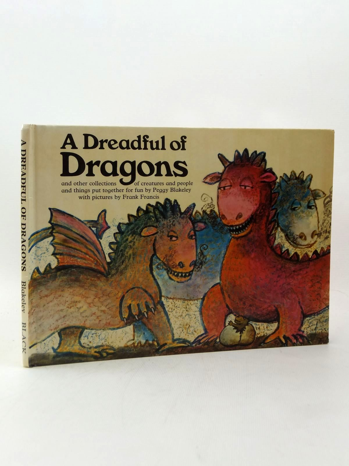 Photo of A DREADFUL OF DRAGONS written by Blakeley, Peggy illustrated by Francis, Frank published by Adam & Charles Black (STOCK CODE: 2123242)  for sale by Stella & Rose's Books