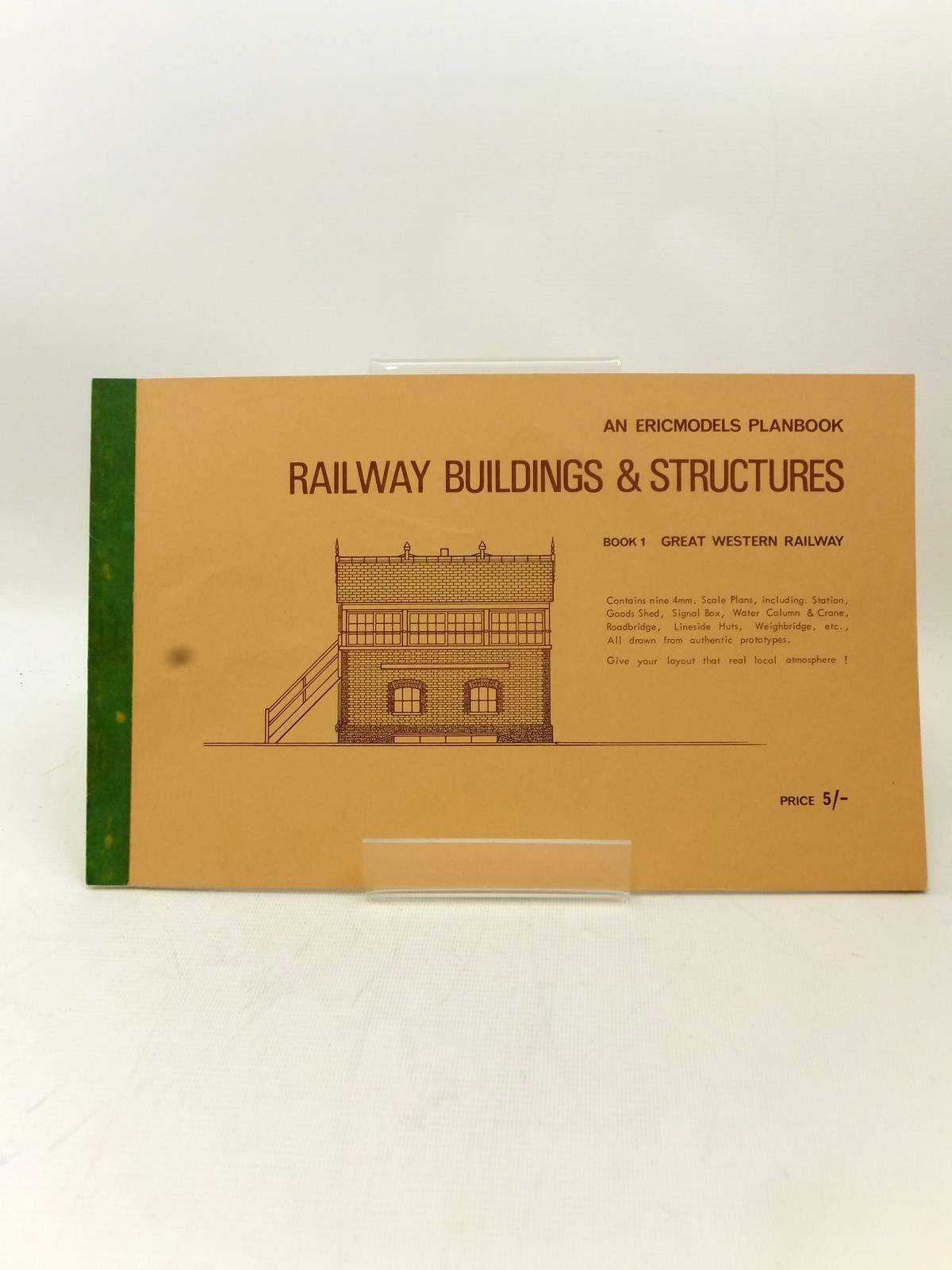 Photo of AN ERICMODELS PLANBOOK RAILWAY BUILDINGS & STRUCTURES BOOK 1 GREAT WESTERN RAILWAY published by Ericmodels (STOCK CODE: 2123245)  for sale by Stella & Rose's Books