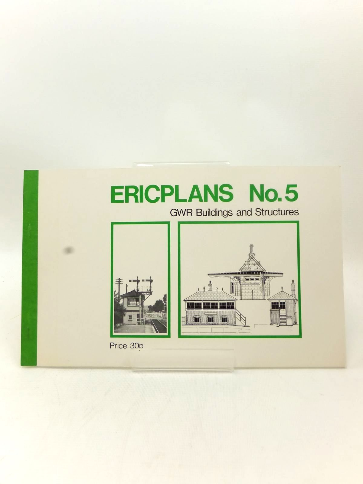 Photo of ERICPLANS No. 5 GWR BUILDINGS AND STRUCTURES written by Ilett, Eric published by Peco Publications (STOCK CODE: 2123246)  for sale by Stella & Rose's Books
