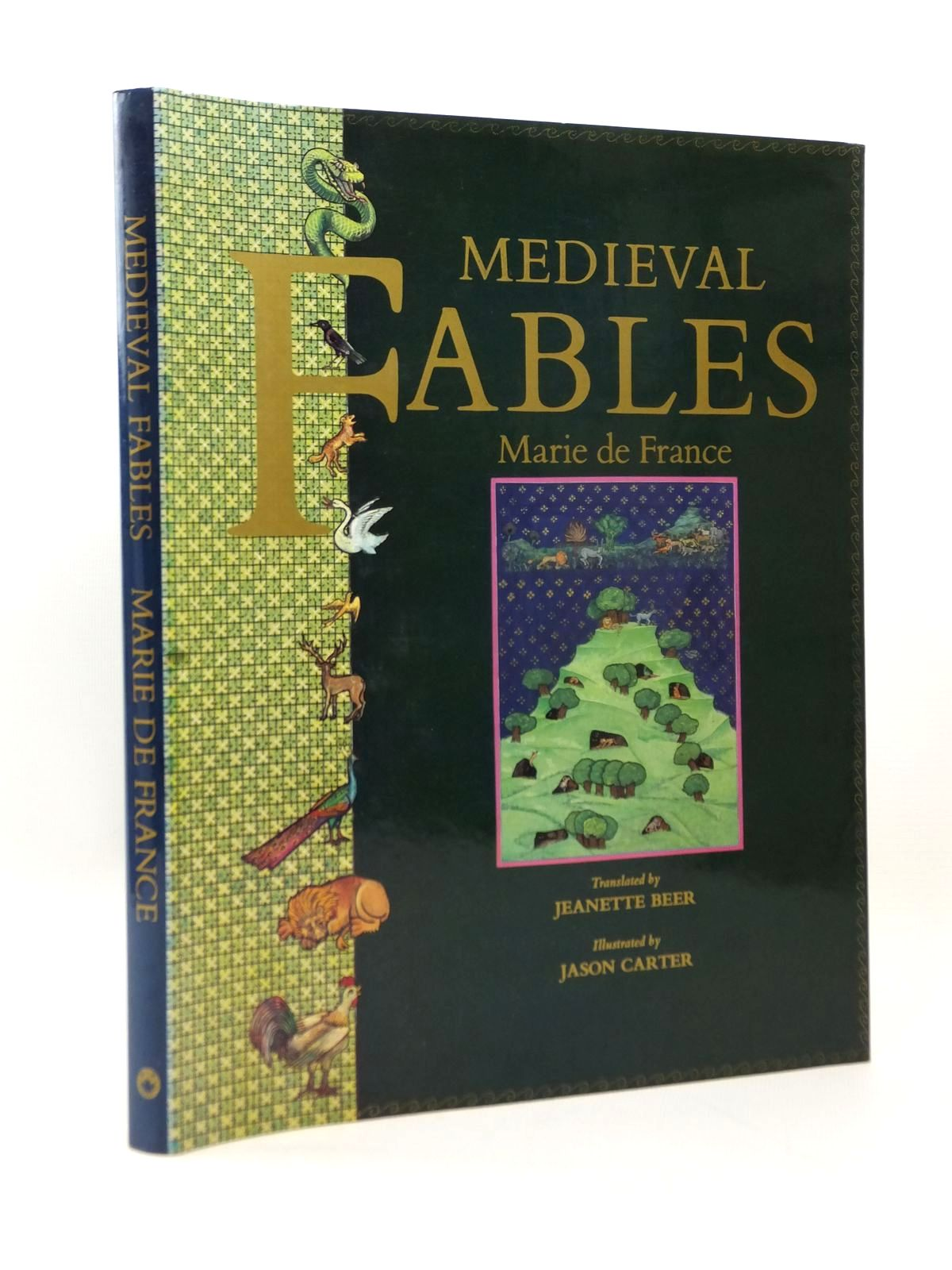 Photo of MEDIEVAL FABLES written by De France, Marie<br />Beer, Jeanette illustrated by Carter, Jason published by Dragon's World, A.H. & A.W. Reed (STOCK CODE: 2123264)  for sale by Stella & Rose's Books