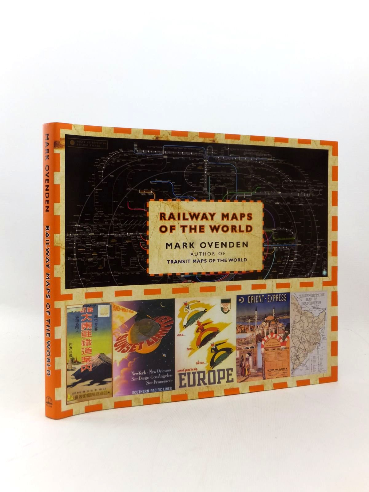 Photo of RAILWAY MAPS OF THE WORLD written by Ovenden, Mark published by Viking Penguin Inc. (STOCK CODE: 2123288)  for sale by Stella & Rose's Books