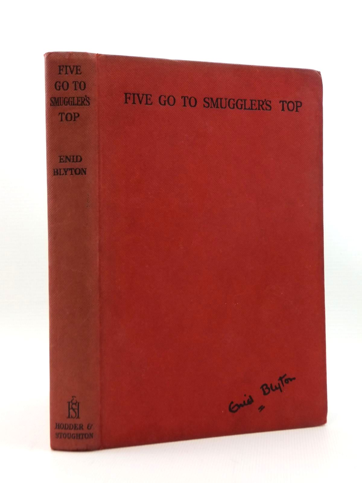 Photo of FIVE GO TO SMUGGLER'S TOP written by Blyton, Enid illustrated by Soper, Eileen published by Hodder & Stoughton (STOCK CODE: 2123337)  for sale by Stella & Rose's Books
