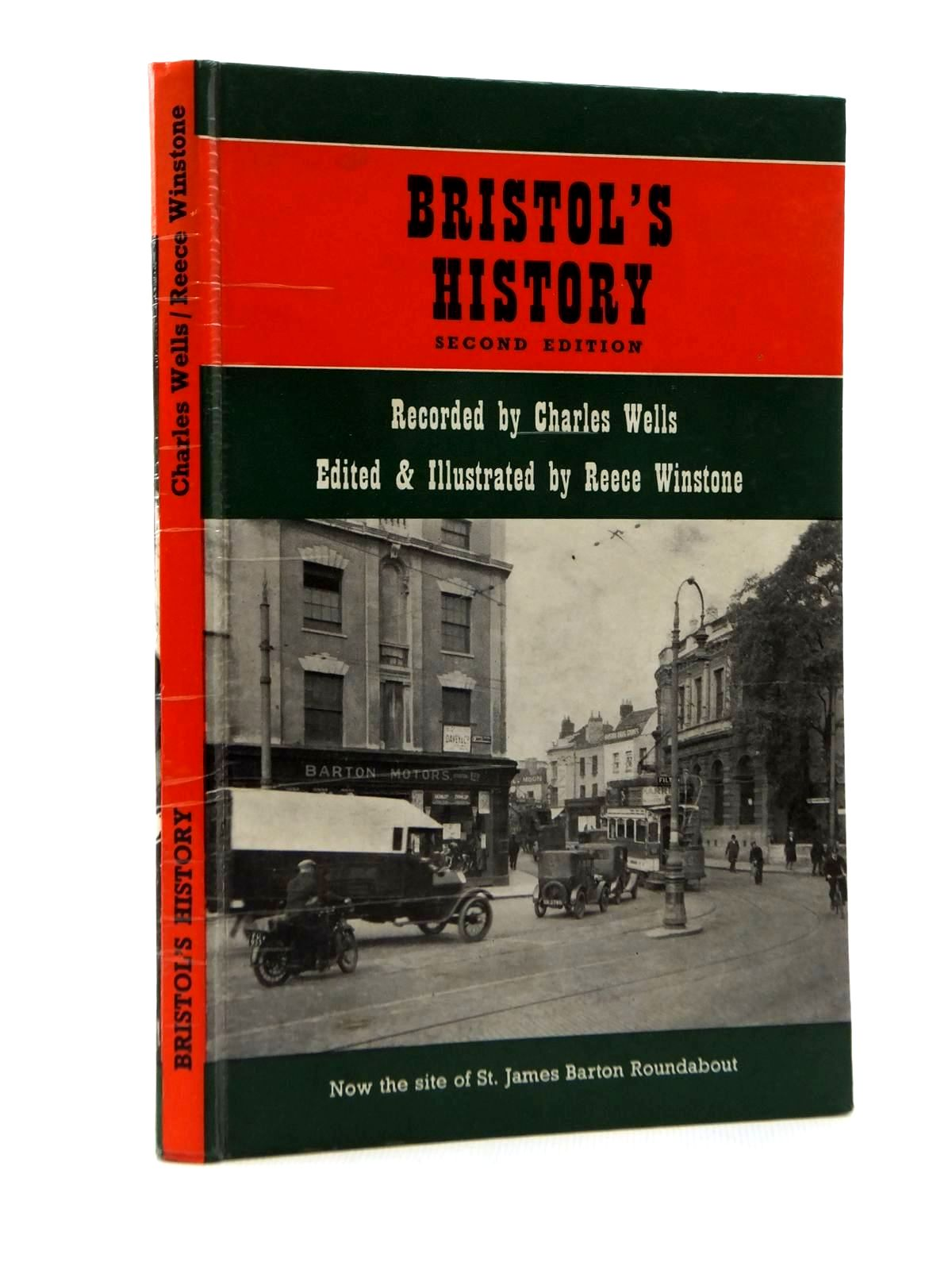 Photo of BRISTOL'S HISTORY written by Wells, Charles<br />Winstone, Reece published by Reece Winstone (STOCK CODE: 2123360)  for sale by Stella & Rose's Books