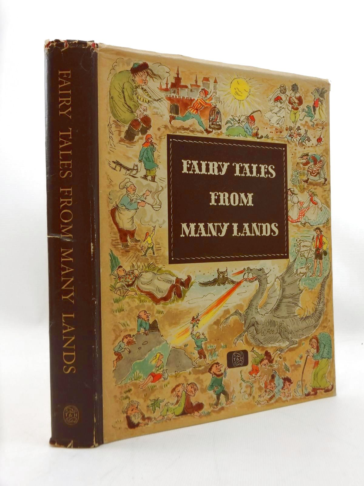 Photo of FAIRY TALES FROM MANY LANDS written by Herda, H. illustrated by Grossmann, Gerhard<br />Koeppen, Hilde<br />Wendorff-Weidt, Ursula published by Thames and Hudson (STOCK CODE: 2123411)  for sale by Stella & Rose's Books