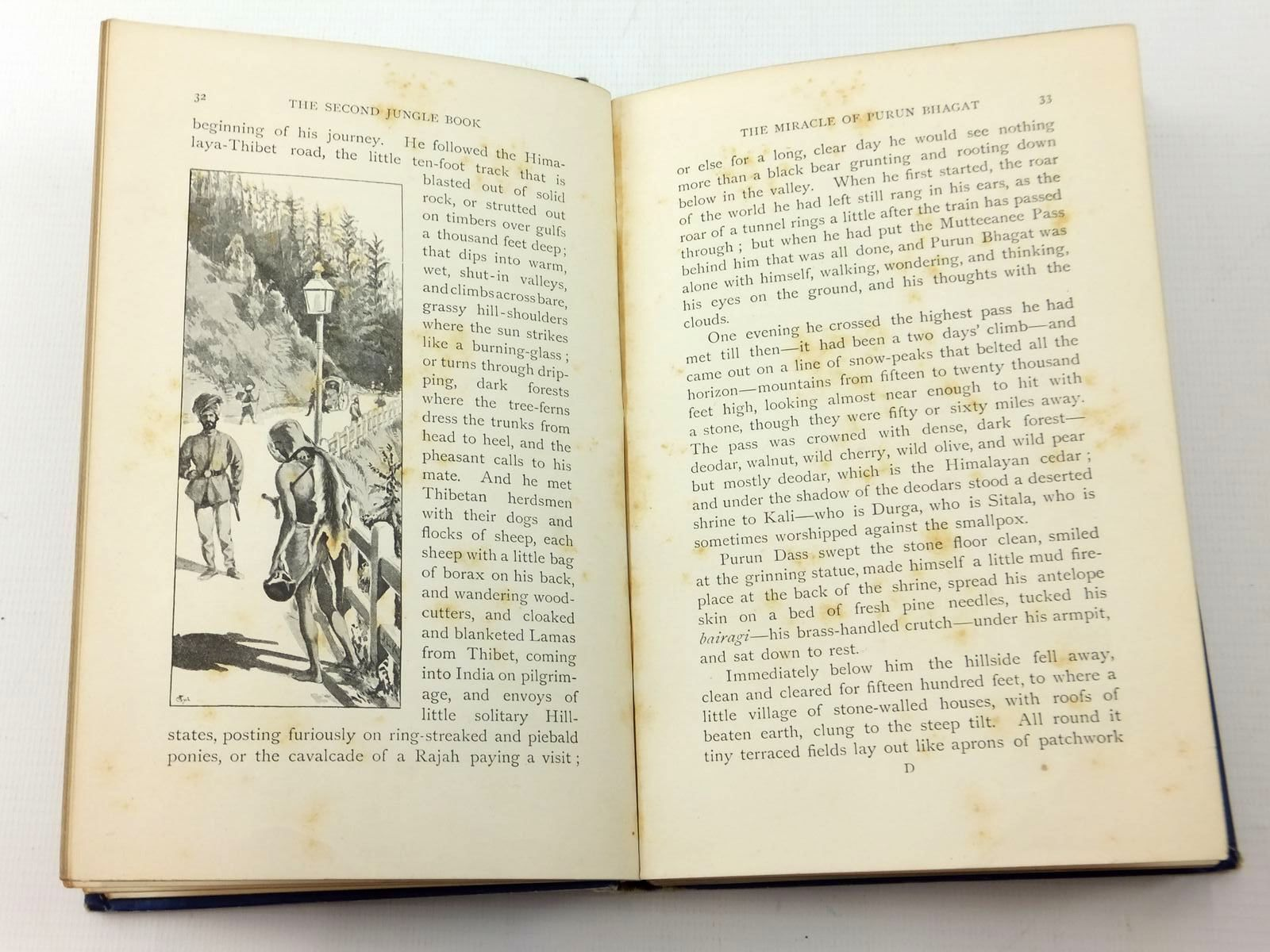Photo of THE SECOND JUNGLE BOOK written by Kipling, Rudyard illustrated by Kipling, J. Lockwood published by Macmillan & Co. (STOCK CODE: 2123416)  for sale by Stella & Rose's Books