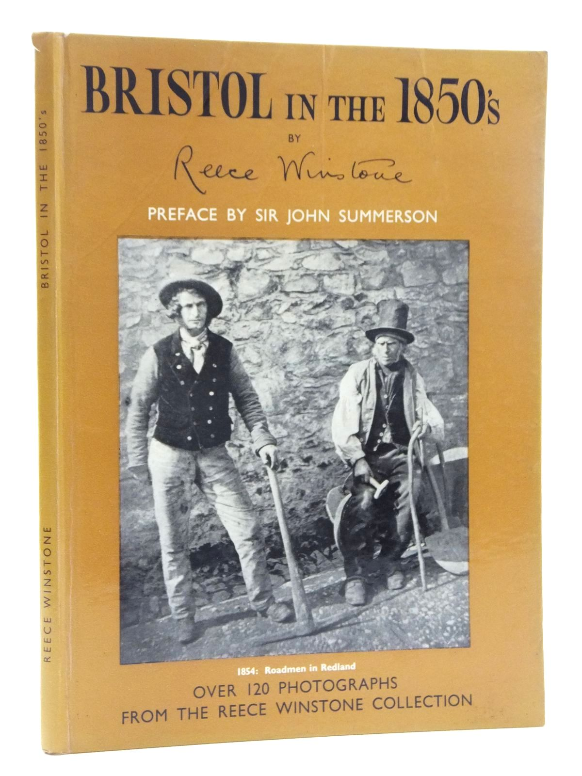 Photo of BRISTOL IN THE 1850'S written by Winstone, Reece published by Reece Winstone (STOCK CODE: 2123426)  for sale by Stella & Rose's Books