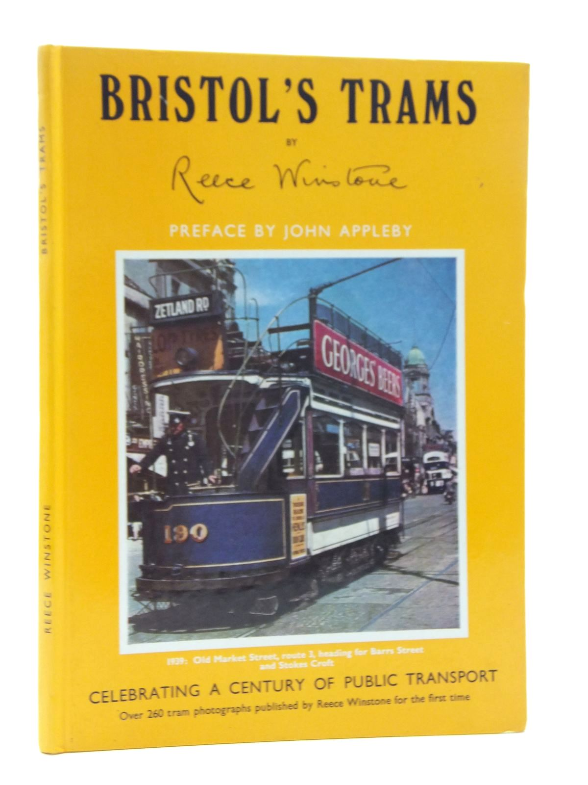 Photo of BRISTOL'S TRAMS written by Winstone, Reece published by Reece Winstone (STOCK CODE: 2123427)  for sale by Stella & Rose's Books