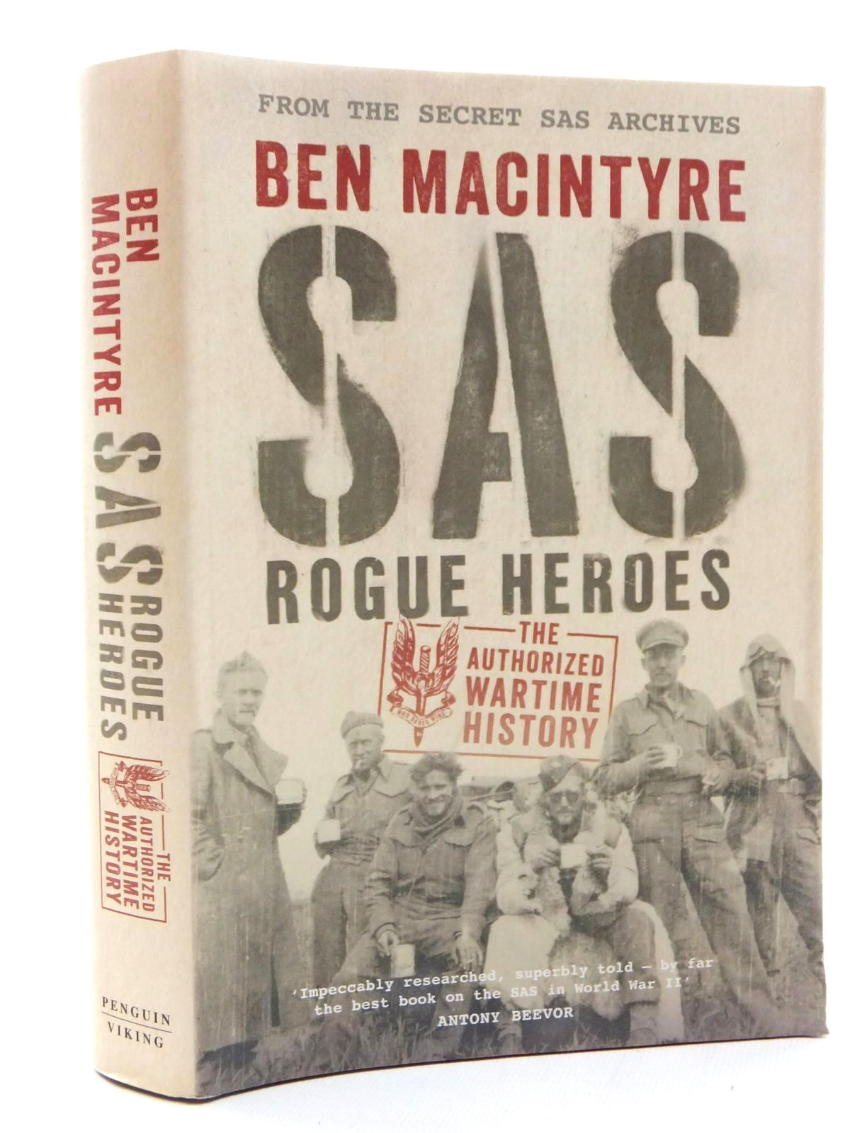Photo of SAS: ROGUE HEROES written by Macintyre, Ben published by Viking (STOCK CODE: 2123451)  for sale by Stella & Rose's Books