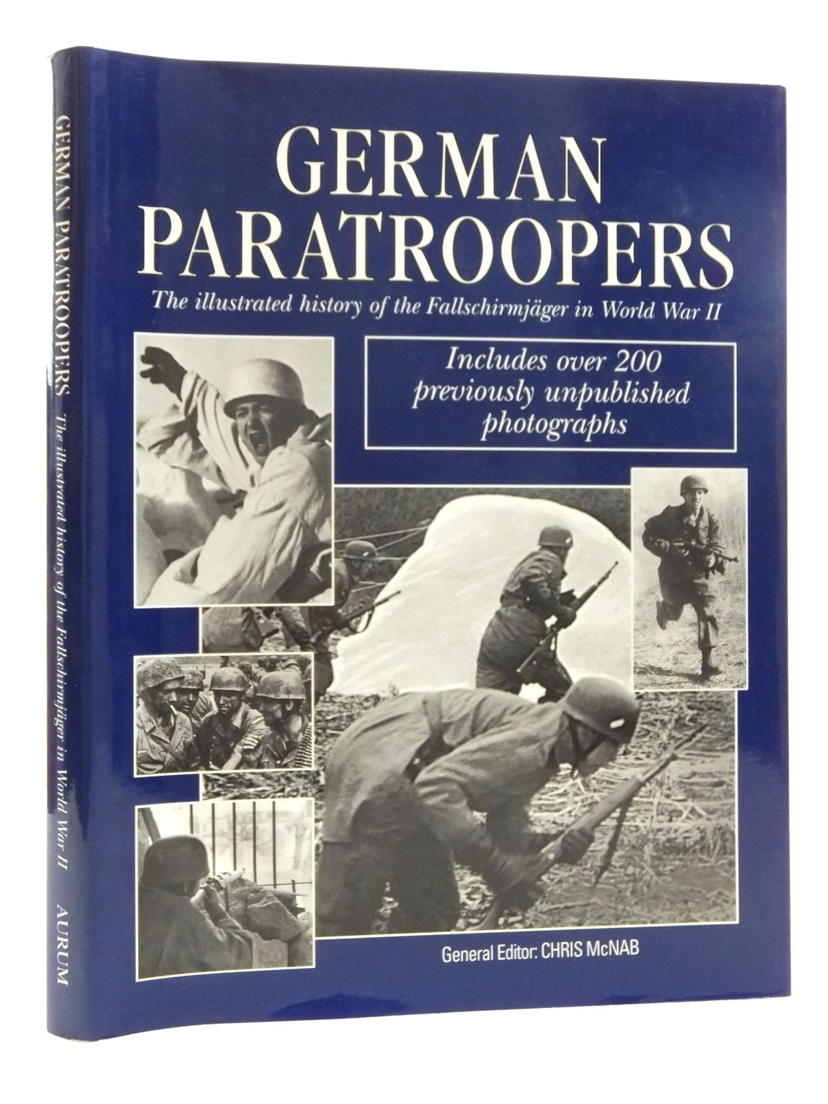Photo of GERMAN PARATROOPERS THE ILLUSTRATED HISTORY OF THE FALLSCHIRMJAGER IN WORLD WAR II written by McNab, Chris published by Aurum Press (STOCK CODE: 2123454)  for sale by Stella & Rose's Books