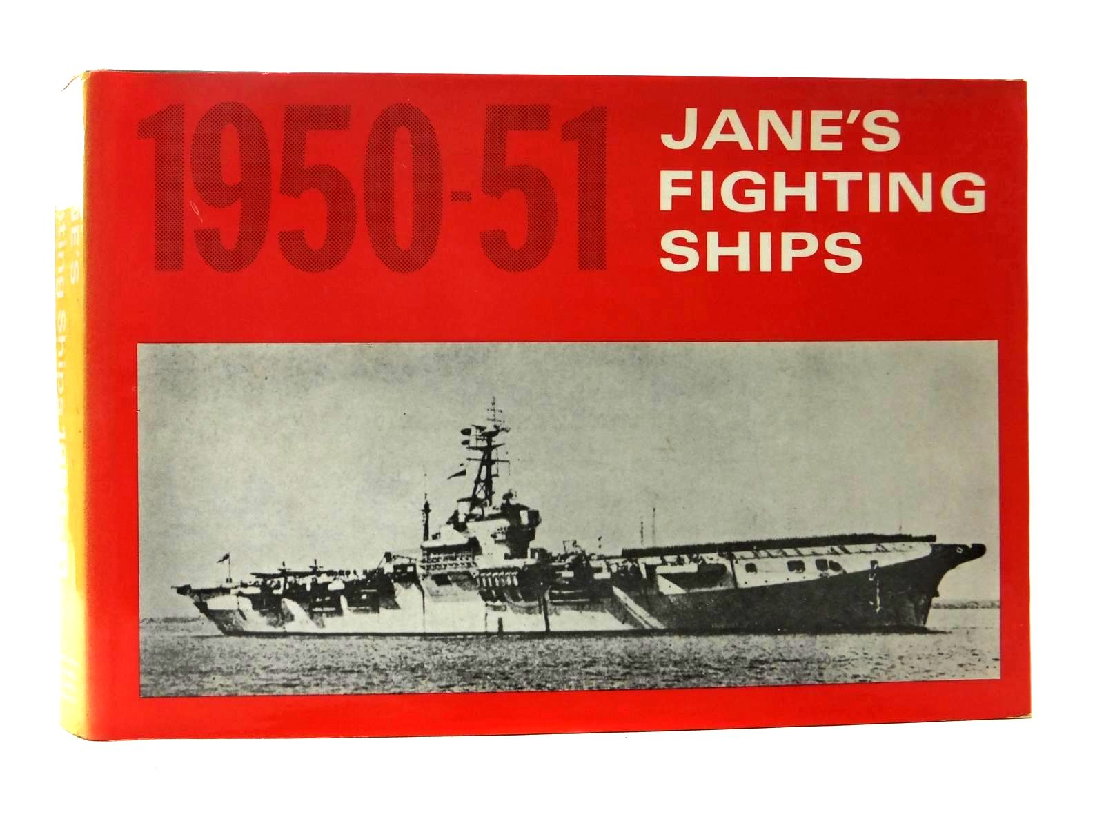 Photo of JANE'S FIGHTING SHIPS 1950-51 written by Jane, Fred T.<br />Blackman, Raymond V.B. published by David & Charles (STOCK CODE: 2123462)  for sale by Stella & Rose's Books