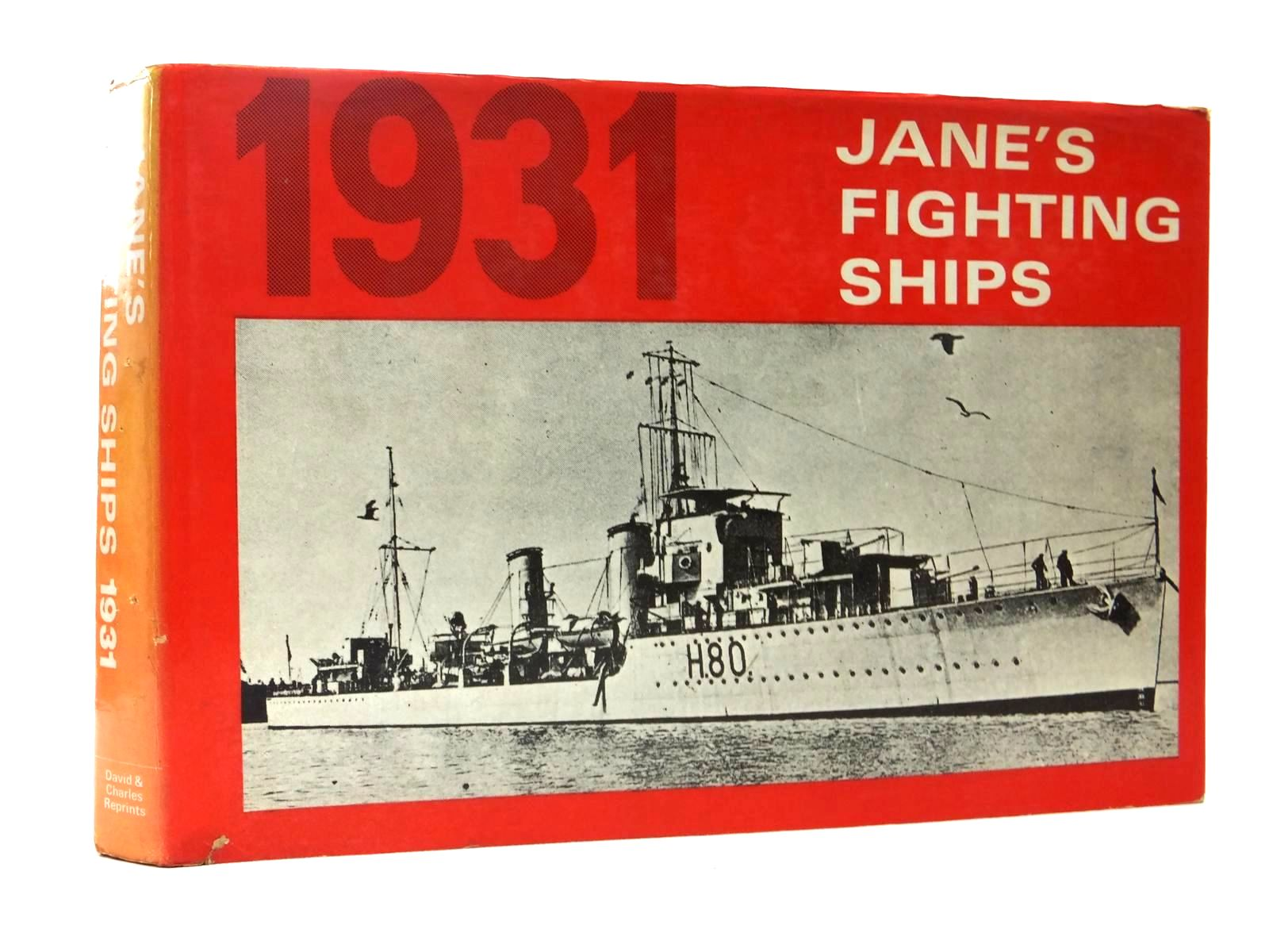 Photo of JANE'S FIGHTING SHIPS 1931 written by Jane, Fred T.<br />McMurtrie, Francis E. published by David & Charles (STOCK CODE: 2123464)  for sale by Stella & Rose's Books