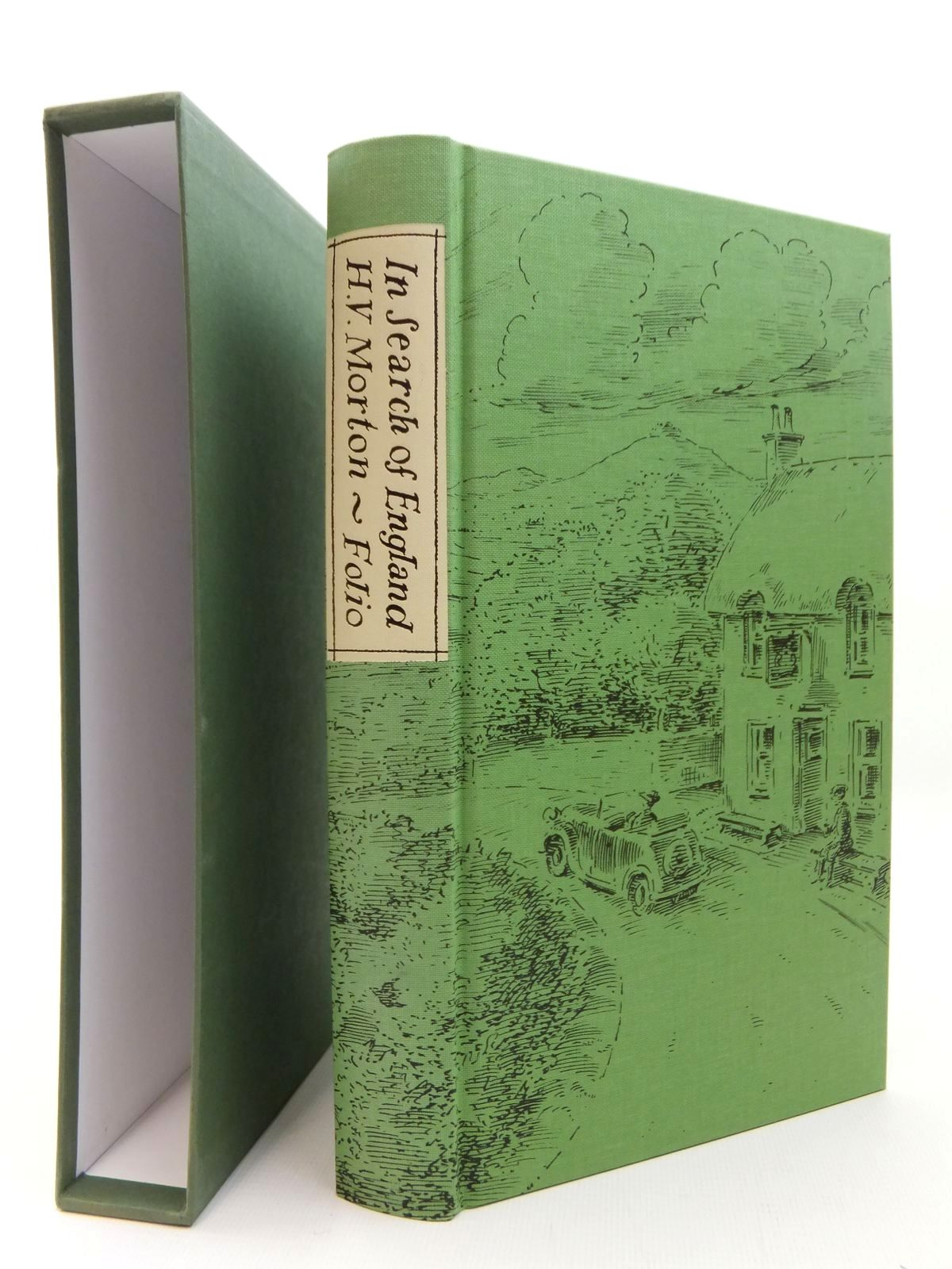 Photo of IN SEARCH OF ENGLAND written by Morton, H.V. illustrated by Bailey, Peter published by Folio Society (STOCK CODE: 2123472)  for sale by Stella & Rose's Books