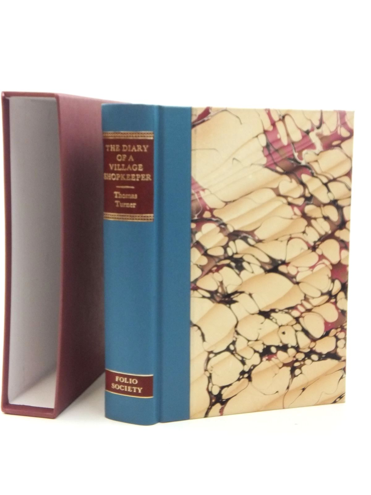 Photo of THE DIARY OF A VILLAGE SHOPKEEPER 1754-1765 written by Turner, Thomas<br />Vaisey, David illustrated by Macgregor, Miriam published by Folio Society (STOCK CODE: 2123480)  for sale by Stella & Rose's Books