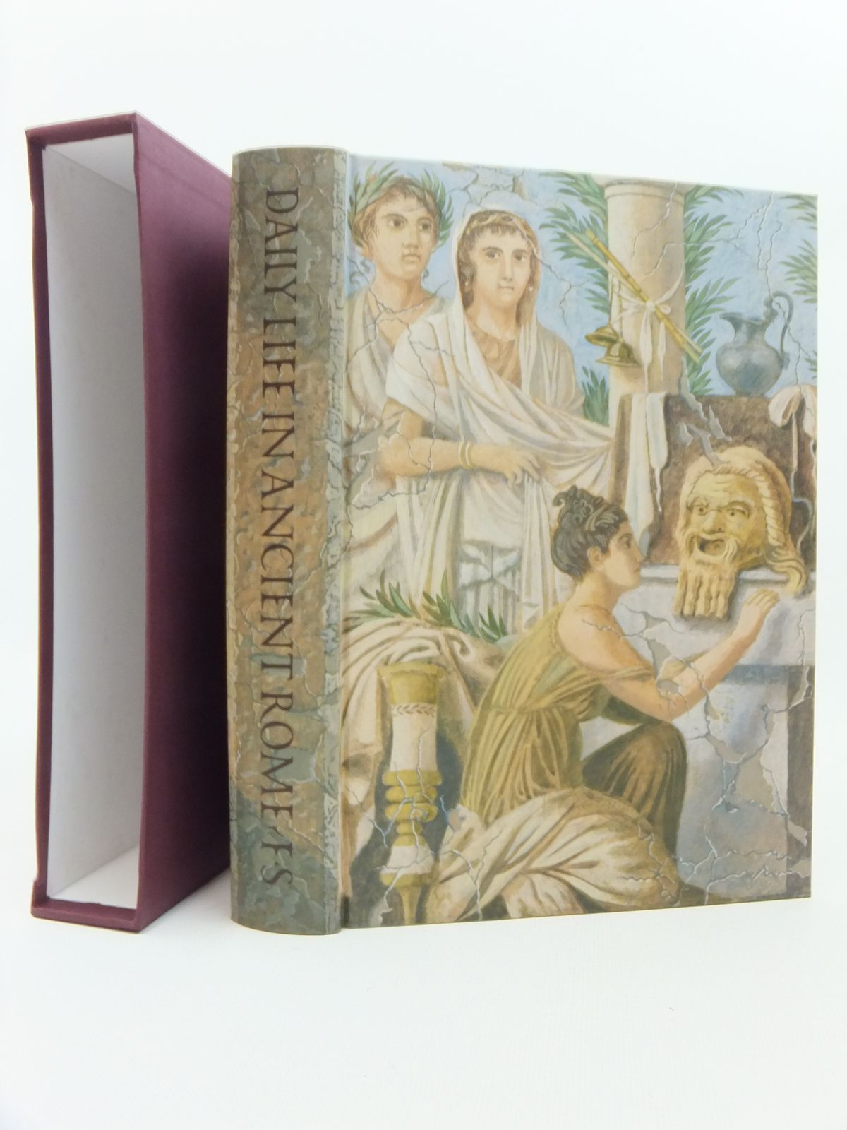 Photo of DAILY LIFE IN ANCIENT ROME written by Carcopino, Jerome<br />Rowell, Henry T.<br />Lorimer, E.O. published by Folio Society (STOCK CODE: 2123513)  for sale by Stella & Rose's Books
