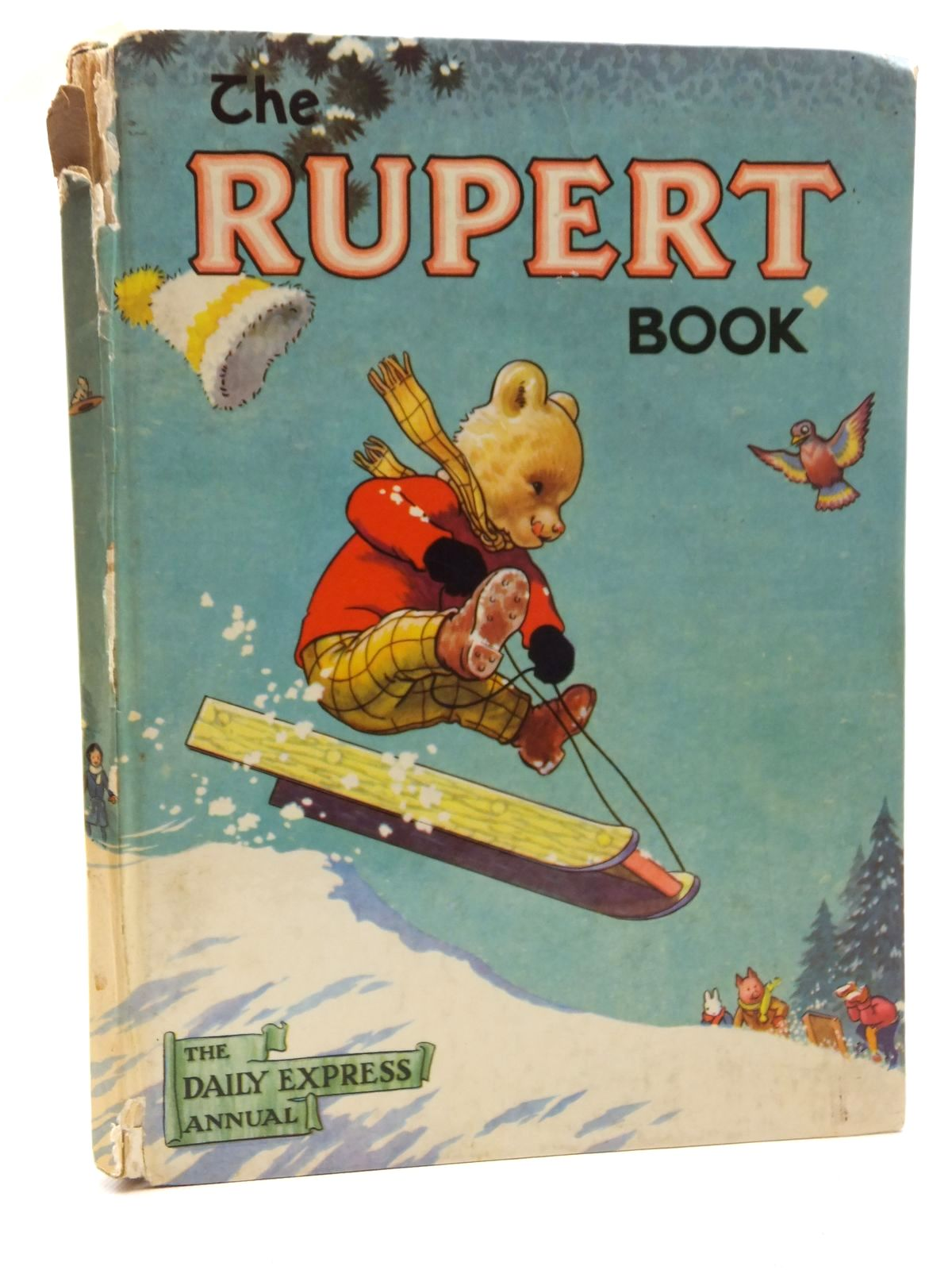 Photo of RUPERT ANNUAL 1956 - THE RUPERT BOOK written by Bestall, Alfred illustrated by Bestall, Alfred published by Oldbourne Book Co. Ltd. (STOCK CODE: 2123543)  for sale by Stella & Rose's Books