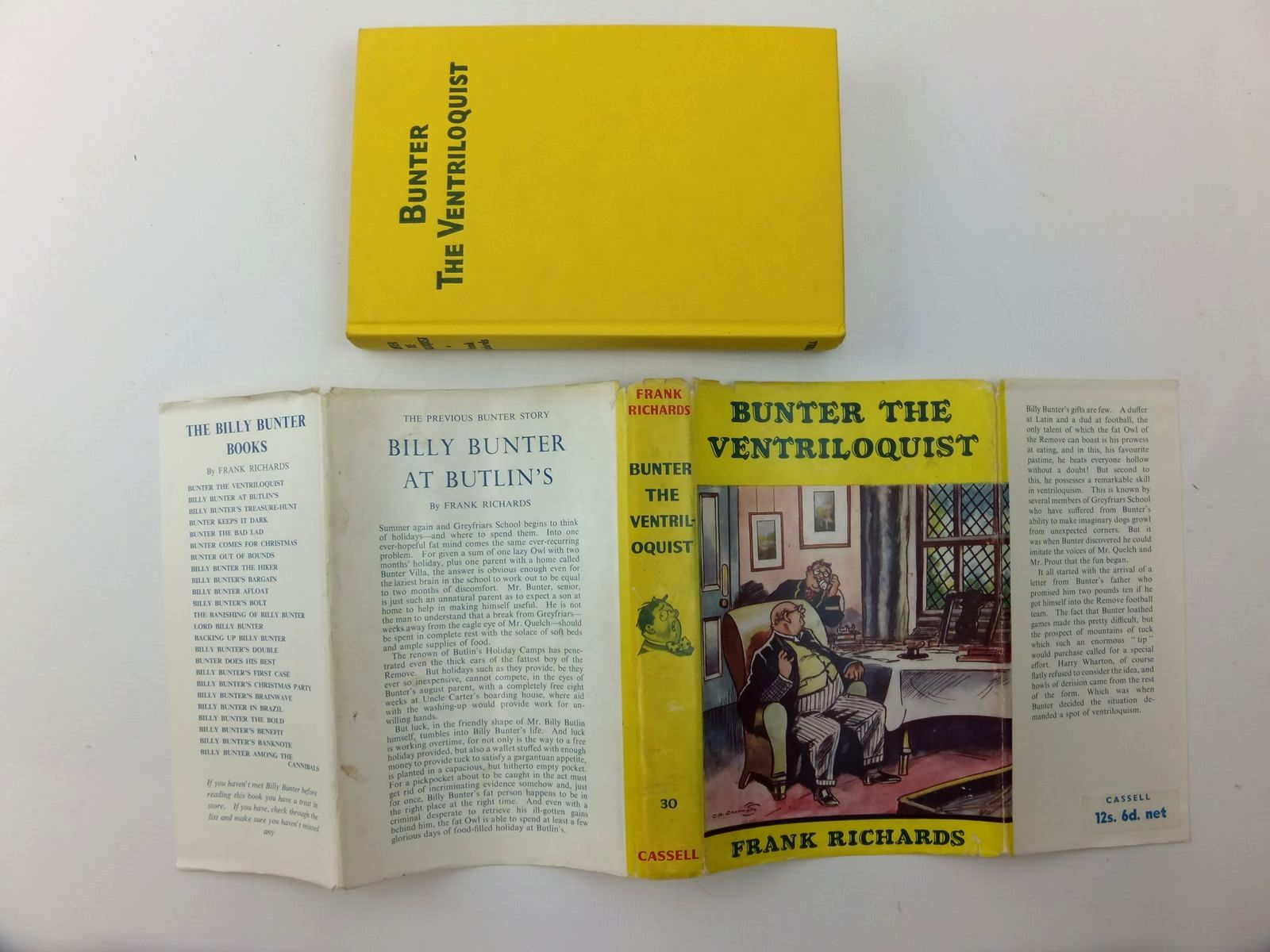 Photo of BUNTER THE VENTRILOQUIST written by Richards, Frank illustrated by Chapman, C.H. published by Cassell (STOCK CODE: 2123563)  for sale by Stella & Rose's Books