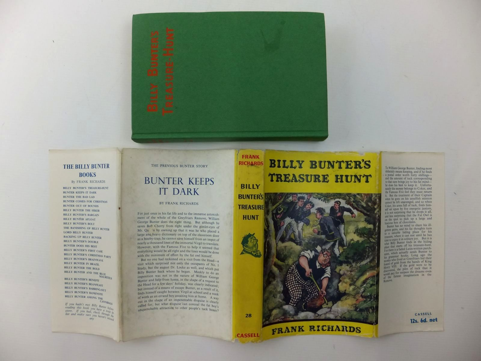 Photo of BILLY BUNTER'S TREASURE HUNT written by Richards, Frank illustrated by Chapman, C.H. published by Cassell (STOCK CODE: 2123564)  for sale by Stella & Rose's Books