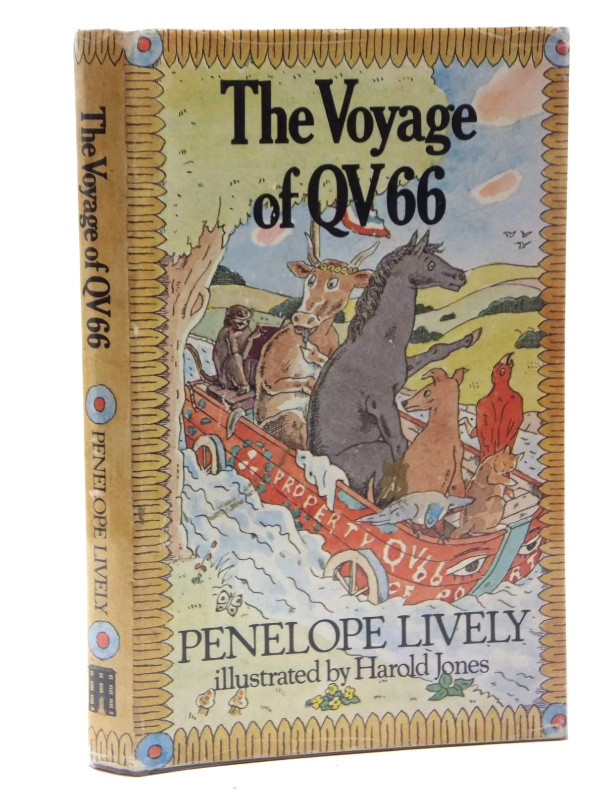 Photo of THE VOYAGE OF QV 66 written by Lively, Penelope illustrated by Jones, Harold published by Red House Books (STOCK CODE: 2123604)  for sale by Stella & Rose's Books
