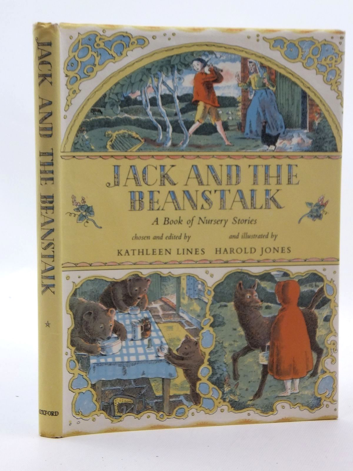 Photo of JACK AND THE BEANSTALK written by Lines, Kathleen illustrated by Jones, Harold published by Oxford University Press (STOCK CODE: 2123607)  for sale by Stella & Rose's Books