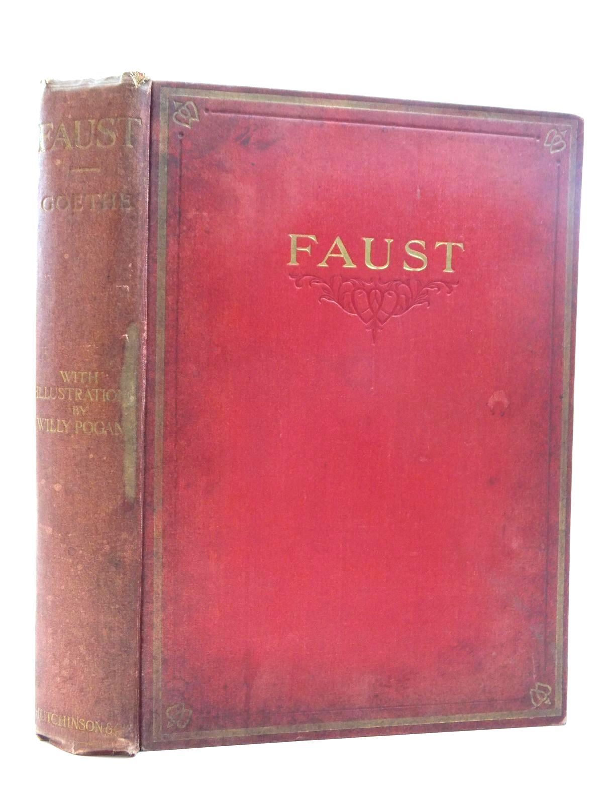 Photo of FAUST written by Goethe, Johann Wolfgang Von<br />Hayward, Abraham illustrated by Pogany, Willy published by Hutchinson & Co. (STOCK CODE: 2123615)  for sale by Stella & Rose's Books