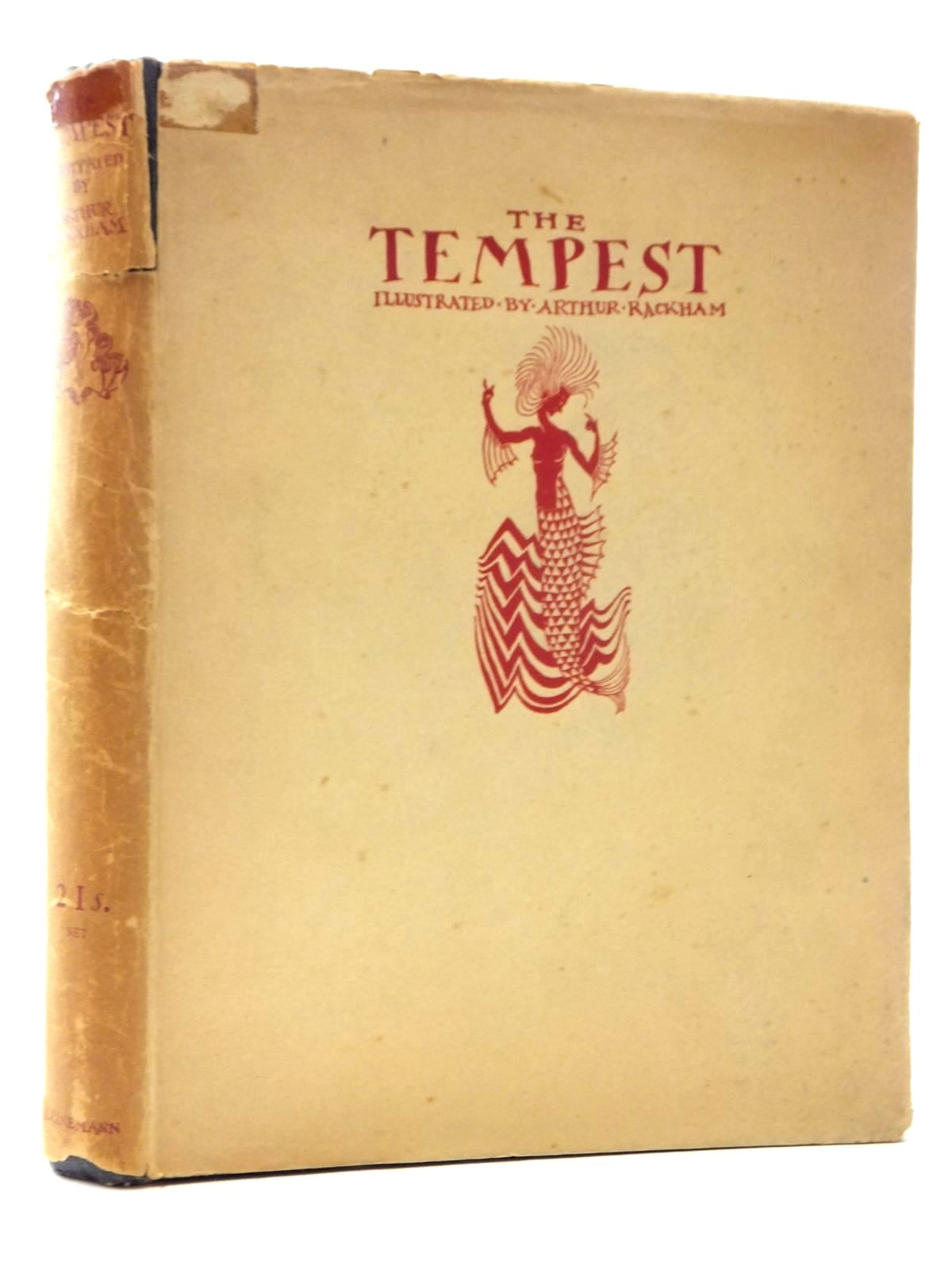 Photo of THE TEMPEST written by Shakespeare, William illustrated by Rackham, Arthur published by William Heinemann Ltd., Doubleday, Page & Company (STOCK CODE: 2123618)  for sale by Stella & Rose's Books
