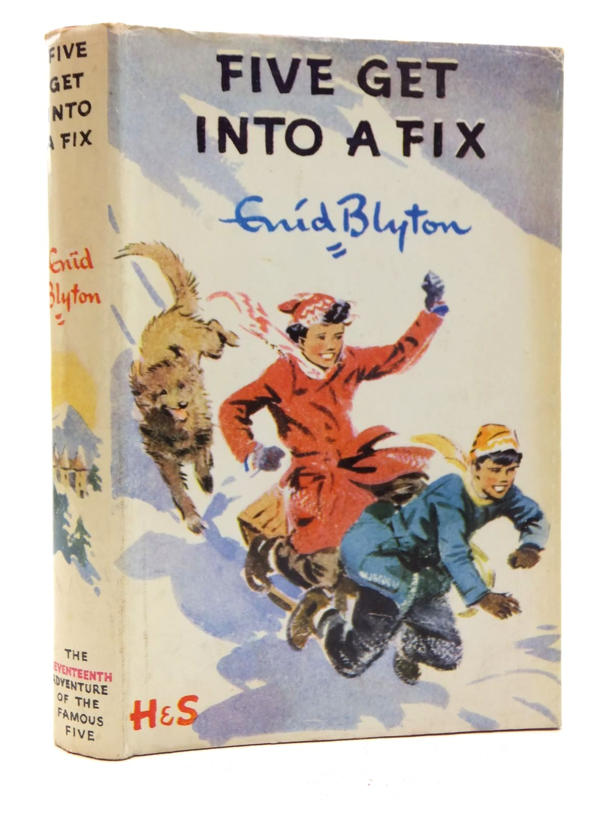 Photo of FIVE GET INTO A FIX written by Blyton, Enid illustrated by Soper, Eileen published by Hodder & Stoughton (STOCK CODE: 2123703)  for sale by Stella & Rose's Books