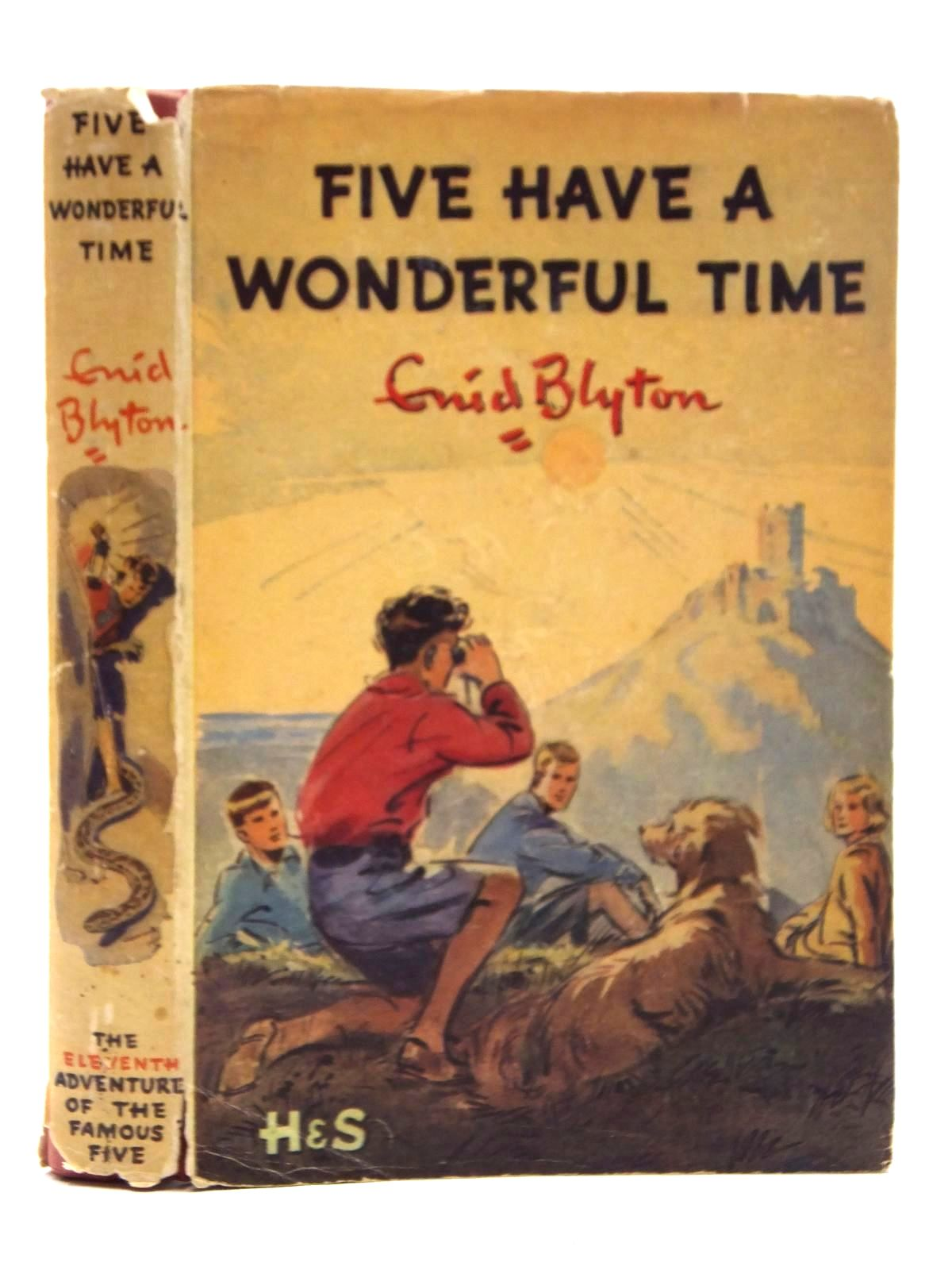 Photo of FIVE HAVE A WONDERFUL TIME written by Blyton, Enid illustrated by Soper, Eileen published by Hodder & Stoughton (STOCK CODE: 2123714)  for sale by Stella & Rose's Books