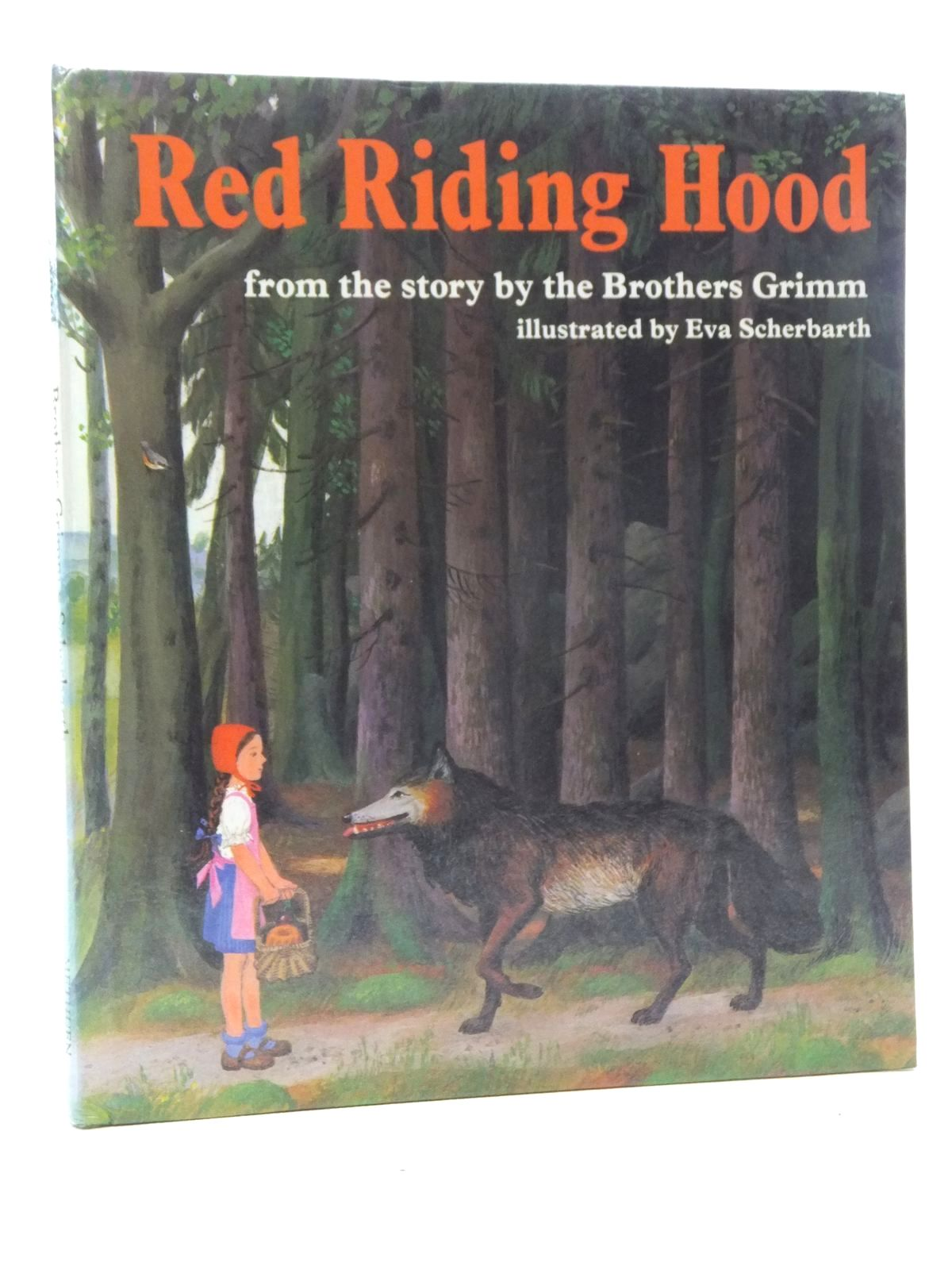 Photo of RED RIDING HOOD written by Grimm, Brothers illustrated by Scherbarth, Eva published by Methuen Children's Books (STOCK CODE: 2123723)  for sale by Stella & Rose's Books