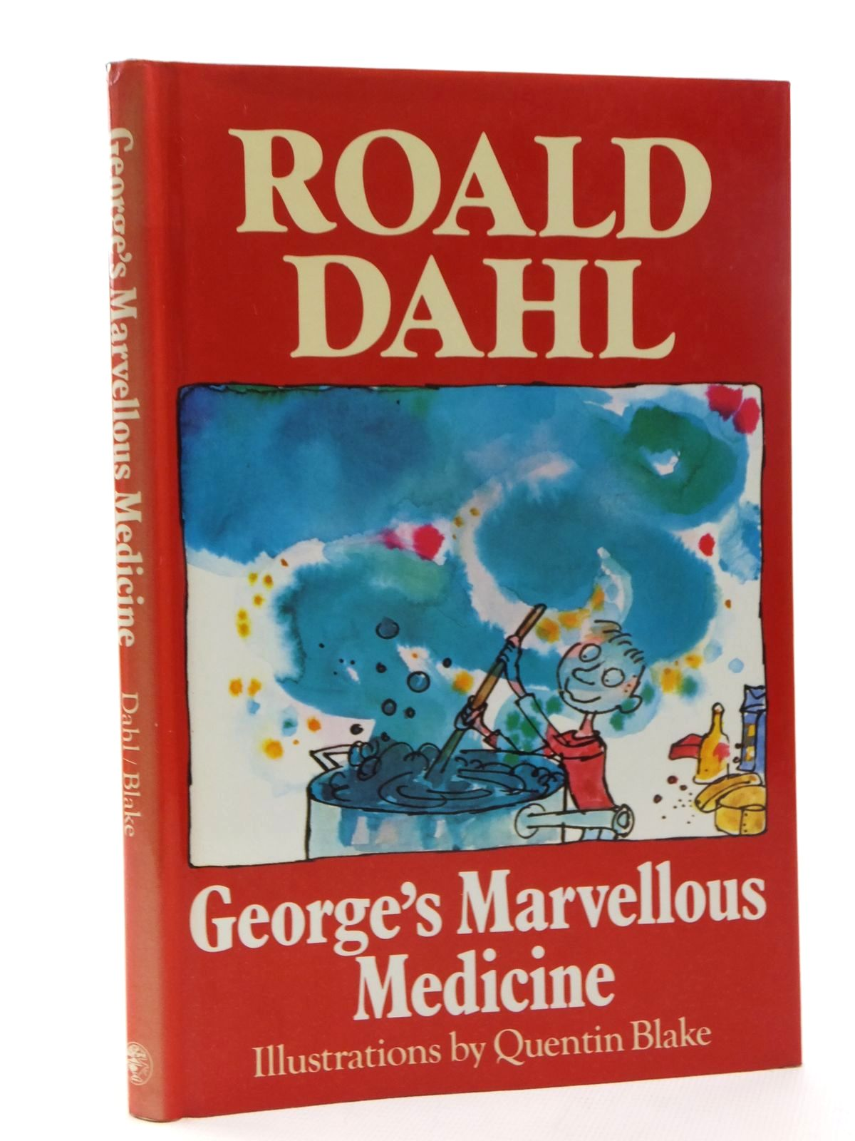 Photo of GEORGE'S MARVELLOUS MEDICINE written by Dahl, Roald illustrated by Blake, Quentin published by Jonathan Cape (STOCK CODE: 2123724)  for sale by Stella & Rose's Books