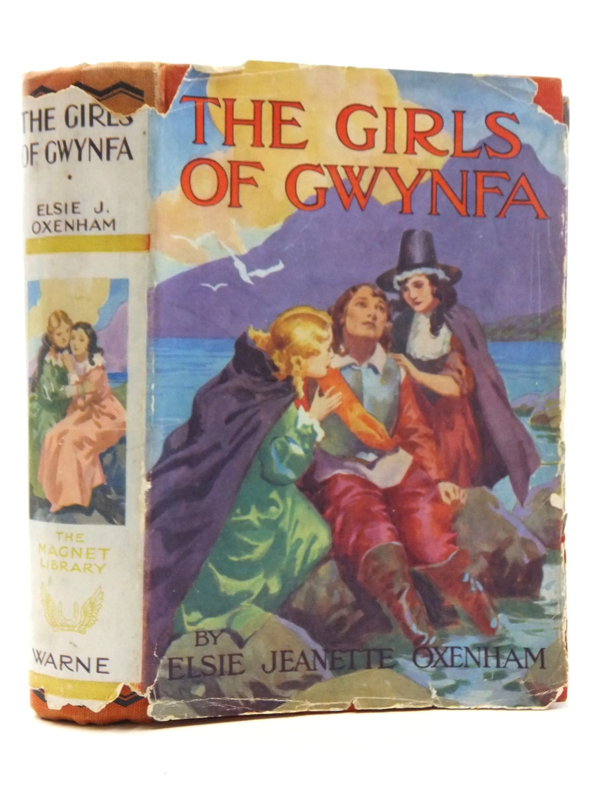 Photo of THE GIRLS OF GWYNFA written by Oxenham, Elsie J. published by Frederick Warne & Co Ltd. (STOCK CODE: 2123814)  for sale by Stella & Rose's Books