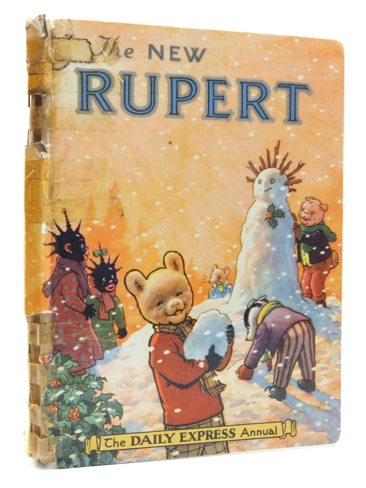 Photo of RUPERT ANNUAL 1954 - THE NEW RUPERT written by Bestall, Alfred illustrated by Bestall, Alfred published by Daily Express (STOCK CODE: 2123816)  for sale by Stella & Rose's Books