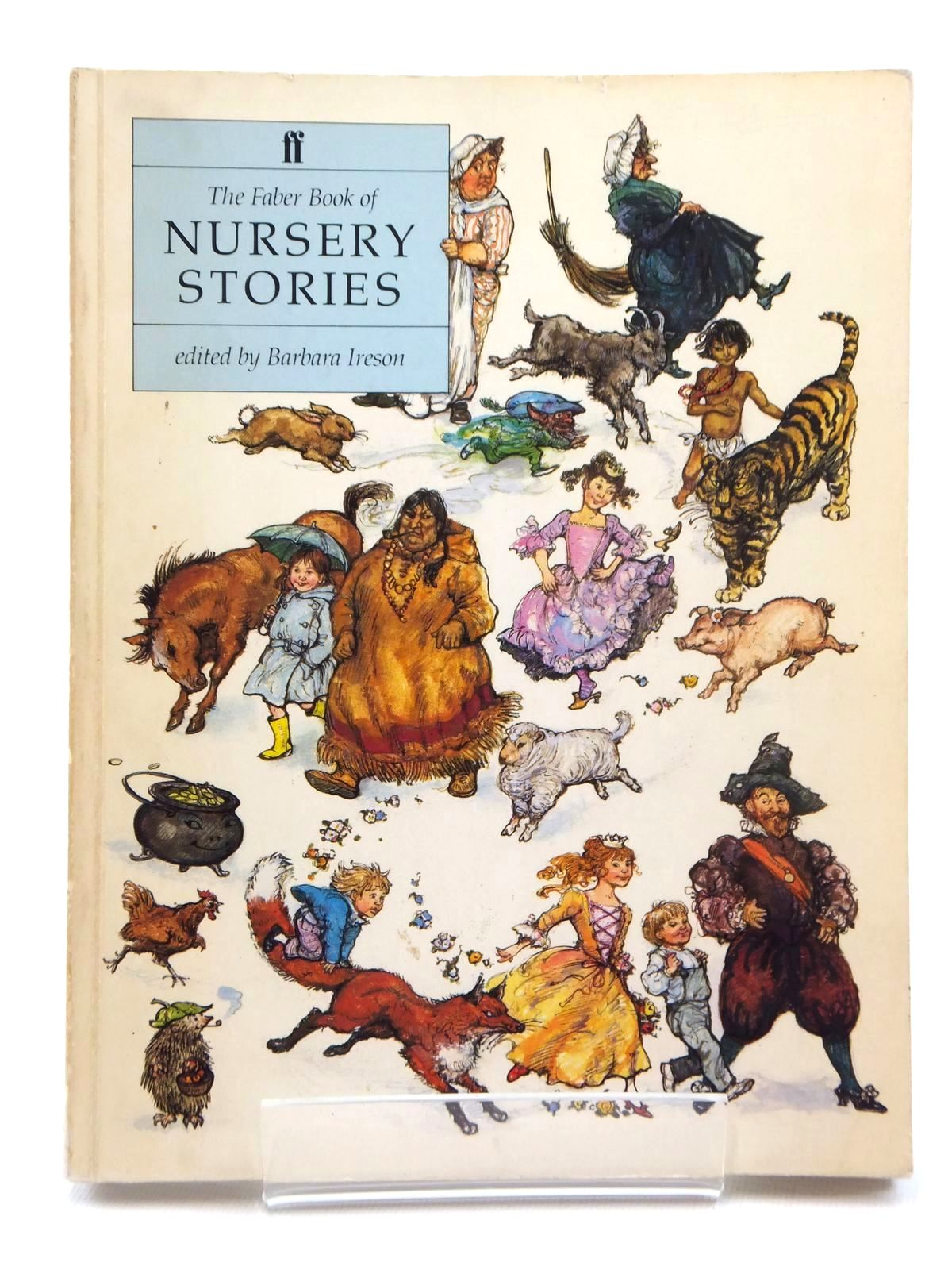Photo of THE FABER BOOK OF NURSERY STORIES written by Ireson, Barbara illustrated by Hughes, Shirley published by Faber & Faber (STOCK CODE: 2123818)  for sale by Stella & Rose's Books