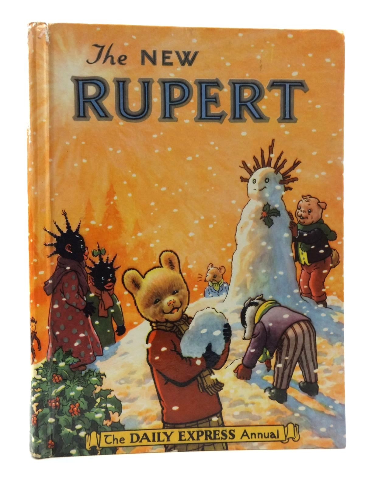 Photo of RUPERT ANNUAL 1954 - THE NEW RUPERT written by Bestall, Alfred illustrated by Bestall, Alfred published by Daily Express (STOCK CODE: 2123827)  for sale by Stella & Rose's Books