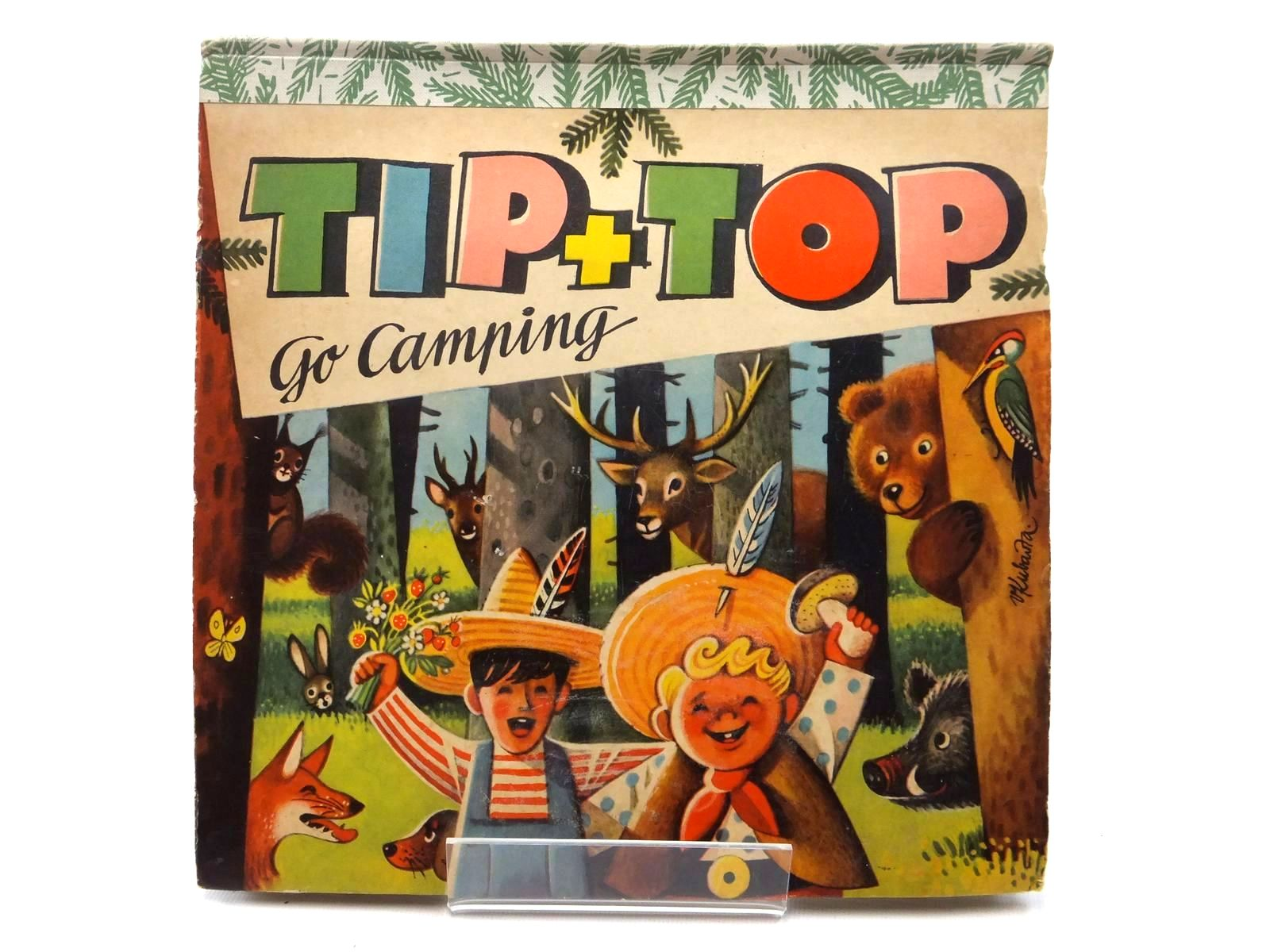 Photo of TIP + TOP GO CAMPING illustrated by Kubasta, Vojtech published by Bancroft & Co.(Publishers) Ltd. (STOCK CODE: 2123847)  for sale by Stella & Rose's Books